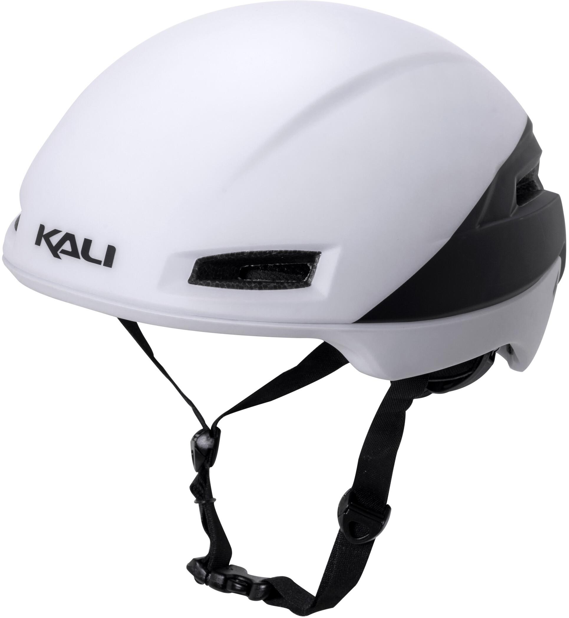 Kali Tava Cykelhjelm Herrer, matte white/black (2019) | Hjelme