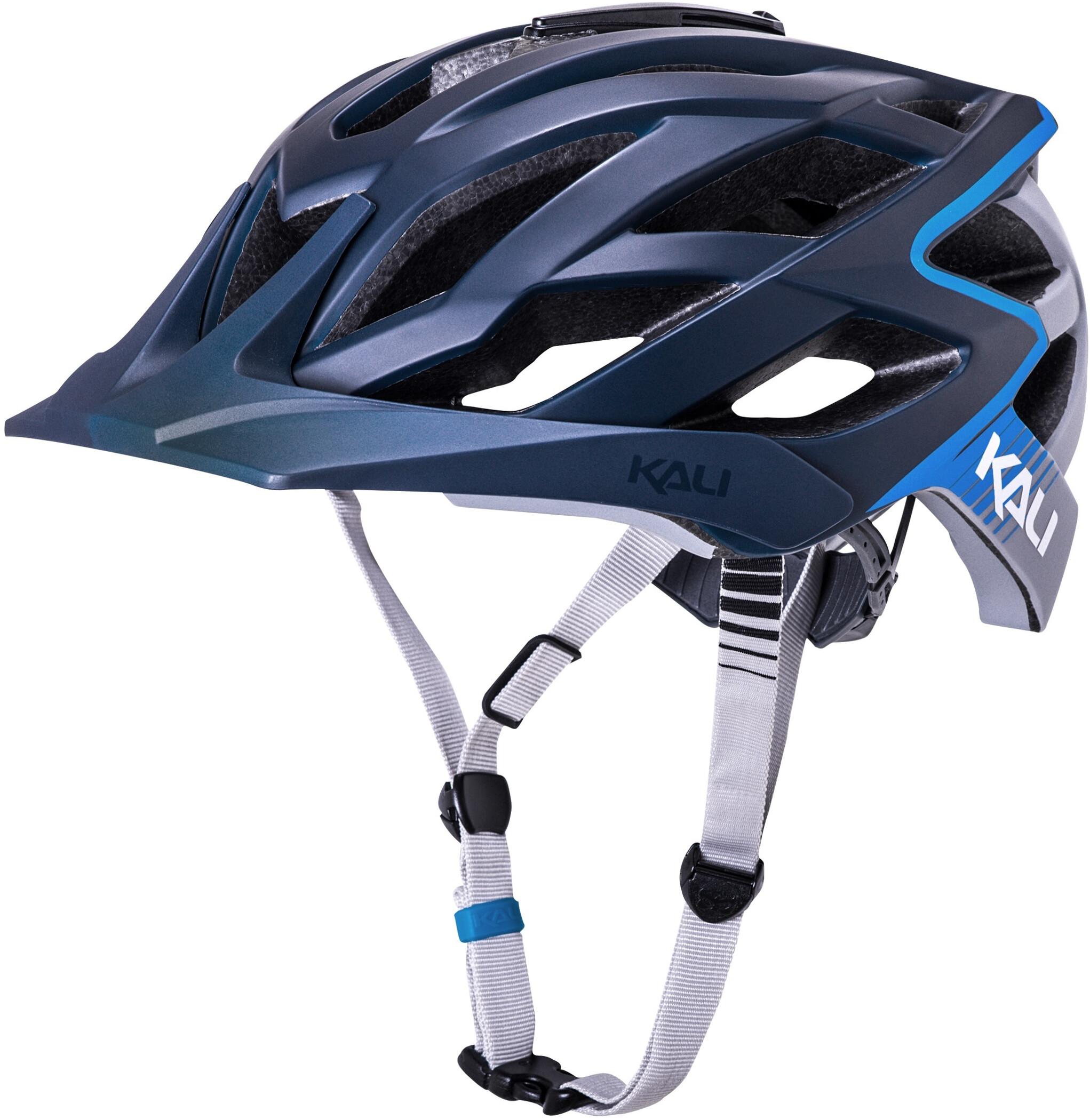 Kali Lunati Cykelhjelm, matte blue/grey   Hjelme