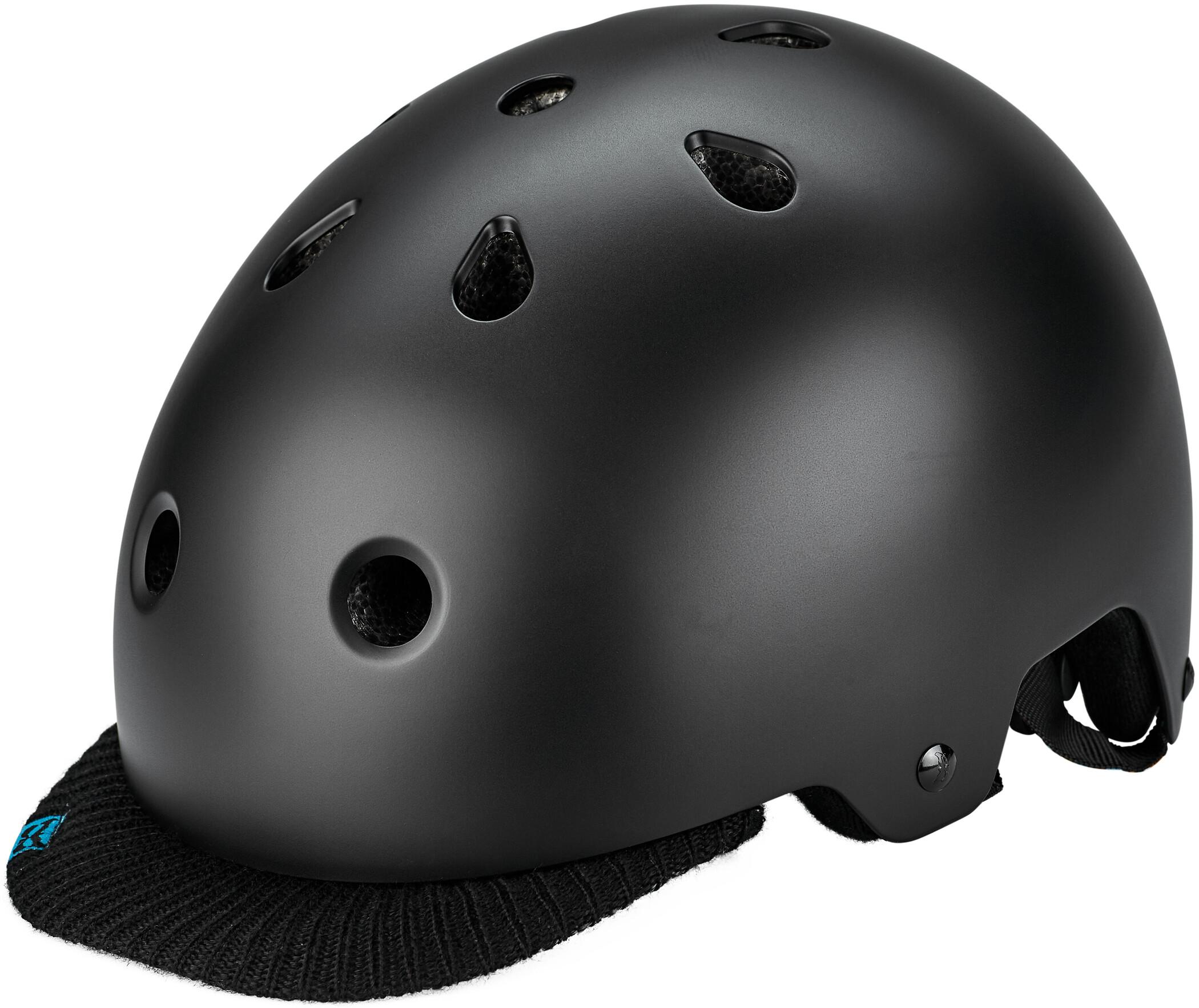 Kali Saha Cykelhjelm, matte black/blue   Hjelme