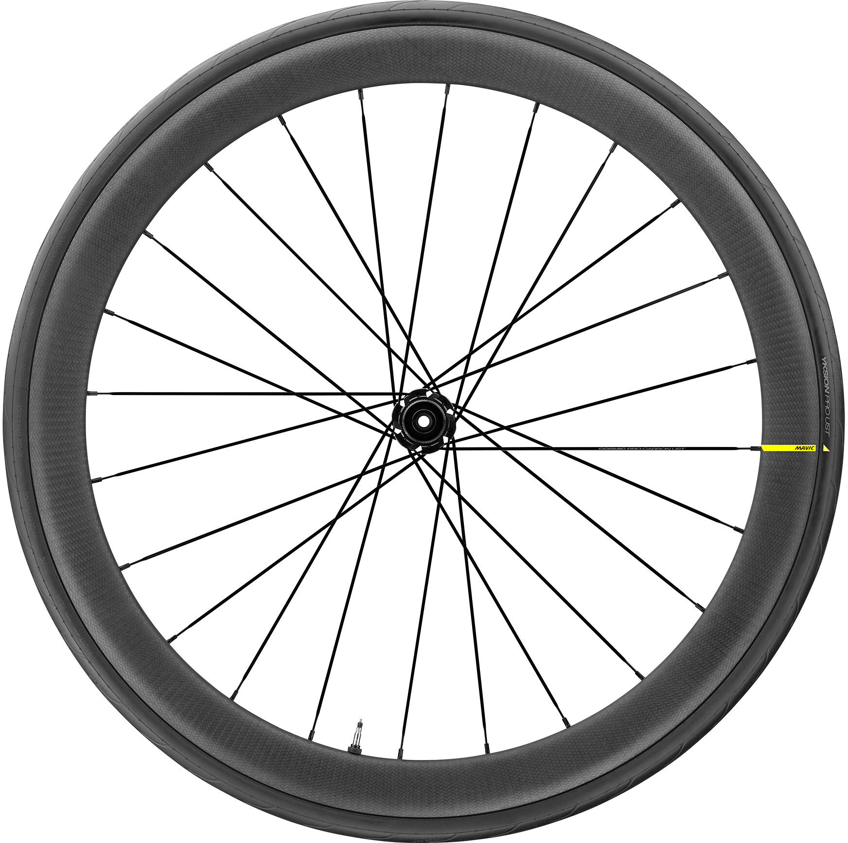Mavic Cosmic Pro Carbon UST Front Wheel Disc CL 650B (2019) | Front wheel