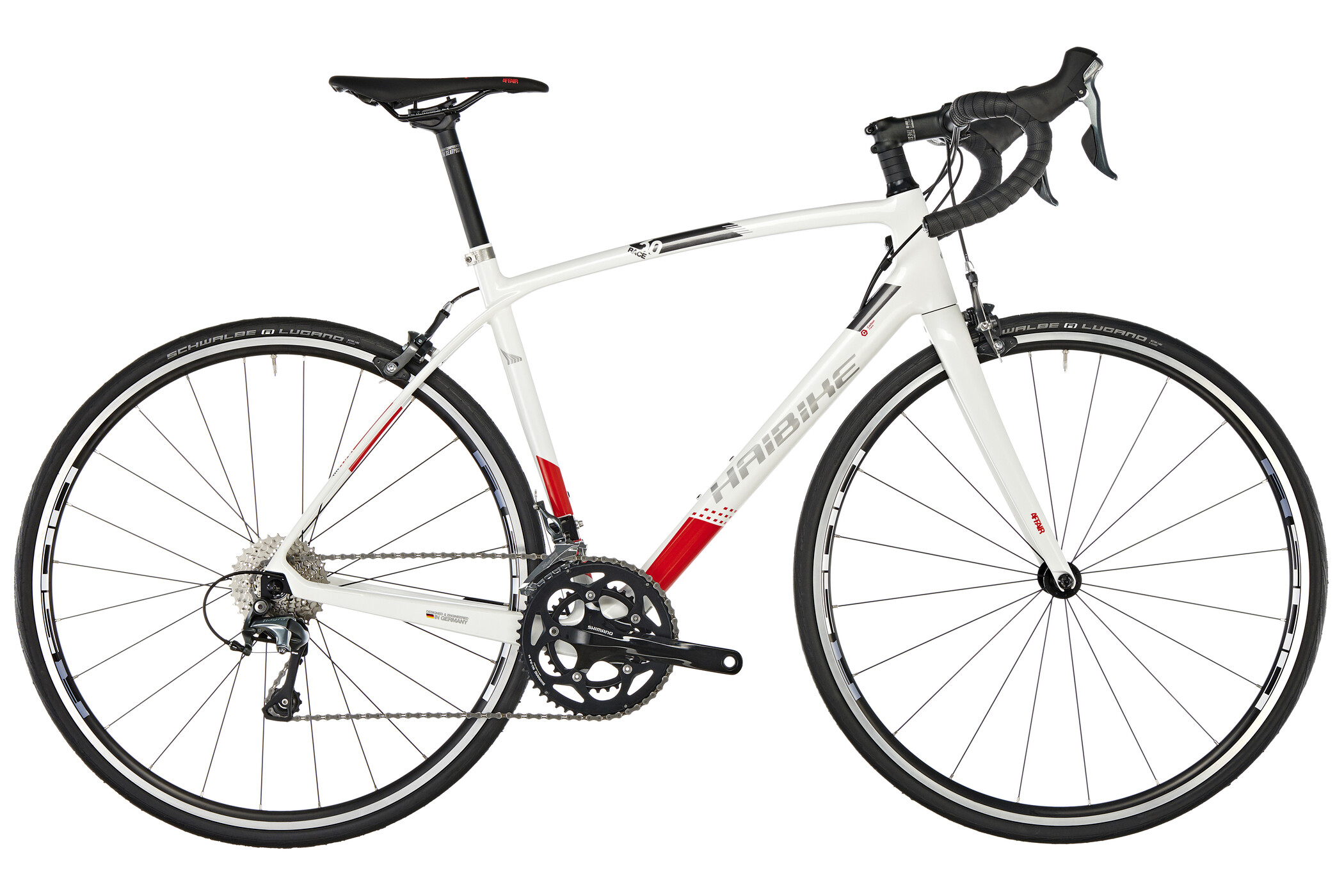 HAIBIKE Affair Race 6.0, white/red/anthracite | Road bikes