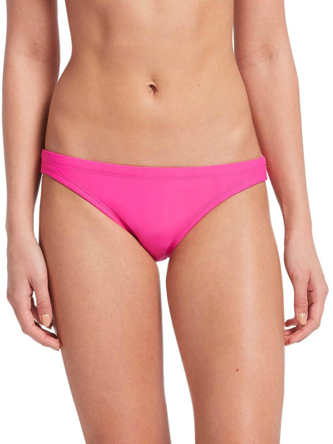 Nike Swim Solid Bikini Damer, laser fuchsia (2019) | swim_clothes