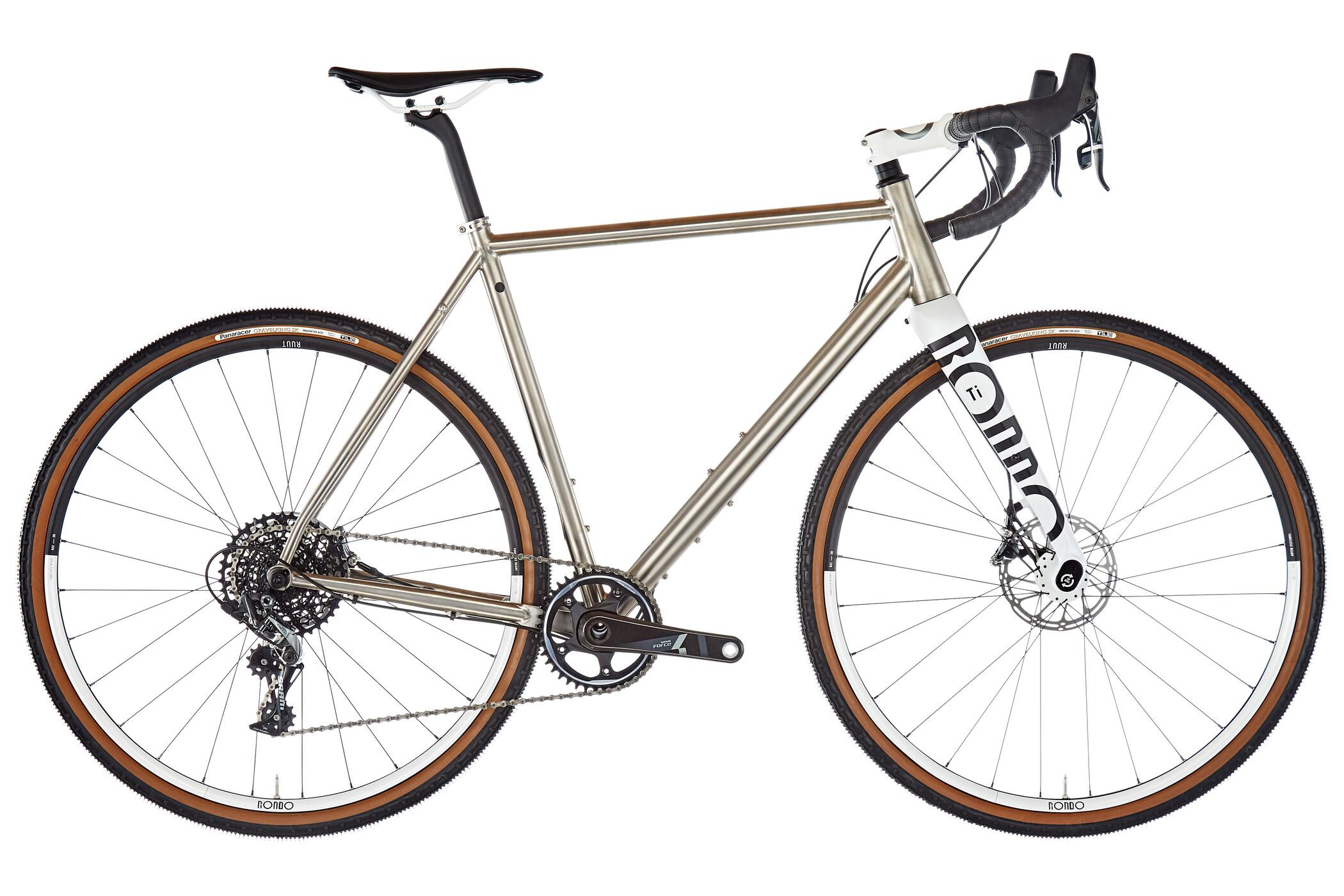 RONDO Ruut TI1 Cyclocross grå/hvid (2019)   Cross