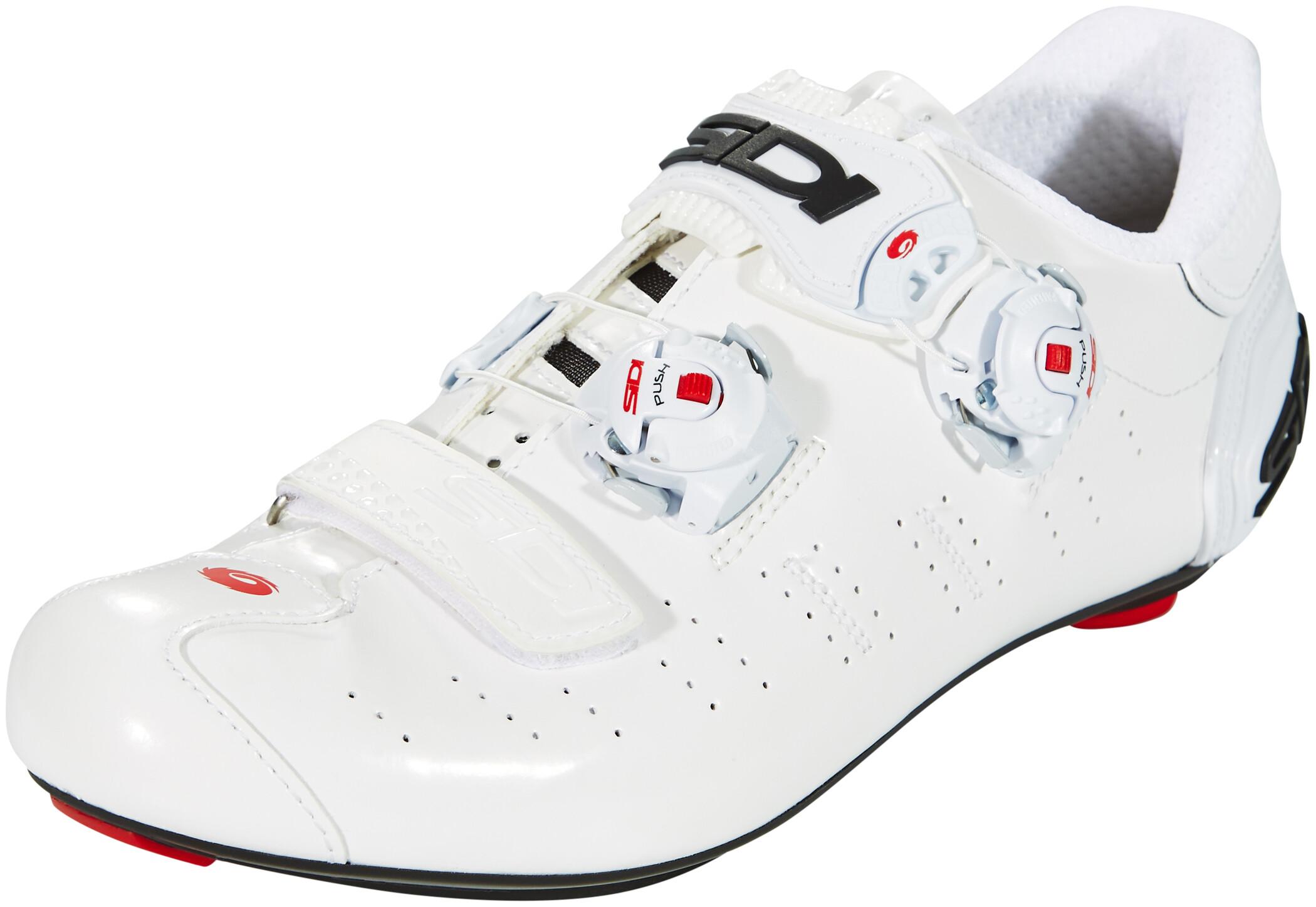 Sidi Ergo 5 Carbon Sko Herrer, white/white (2019)   Shoes and overlays