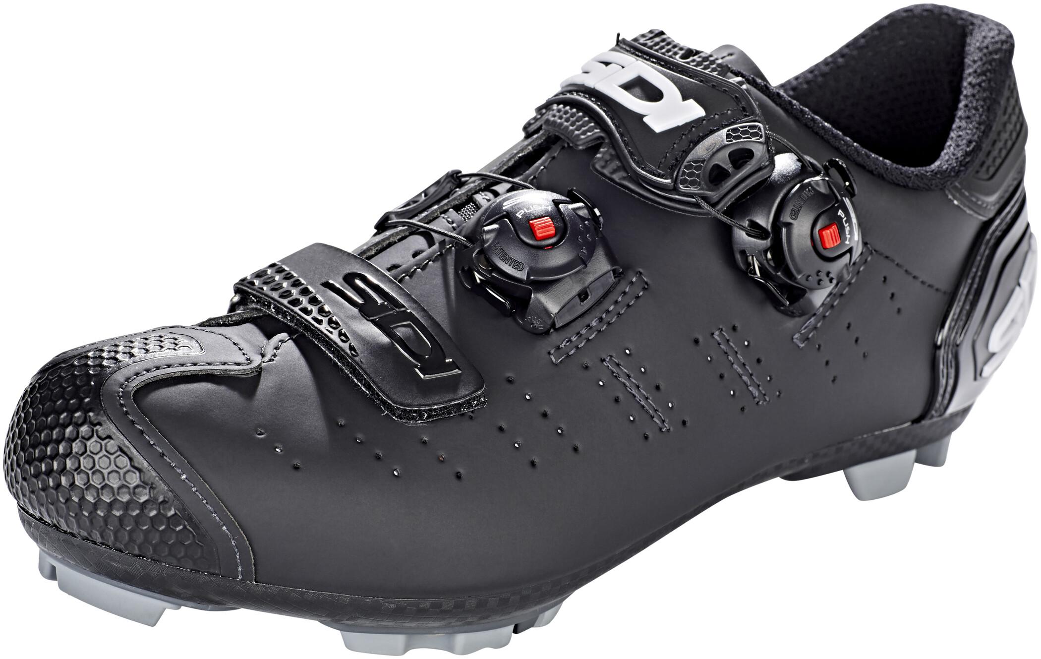Sidi MTB Dragon 5 SRS Mega Sko Herrer, matt black (2019)   Shoes and overlays