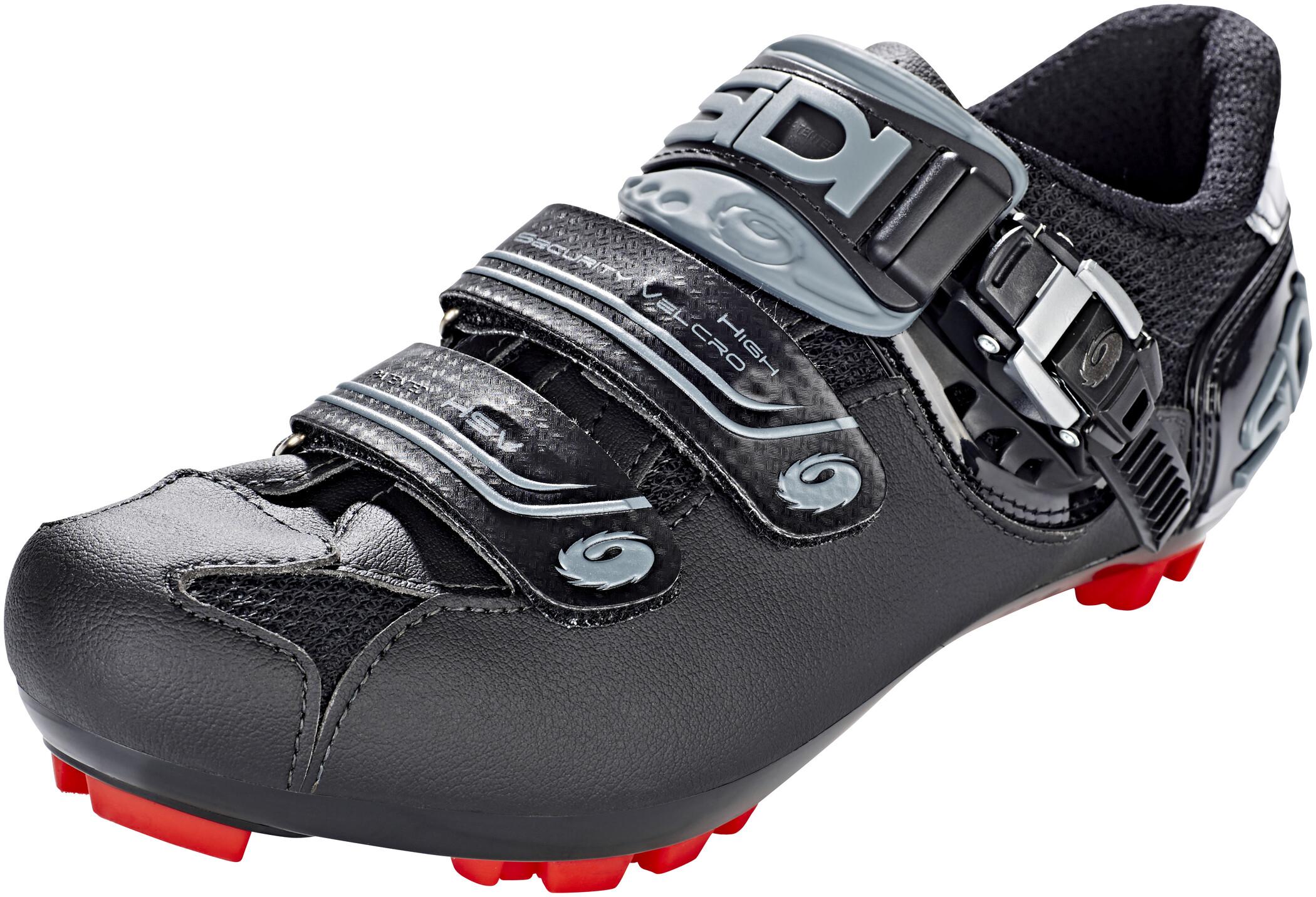 Sidi MTB Eagle 7-SR Sko Herrer, shadow black (2019)   Shoes and overlays