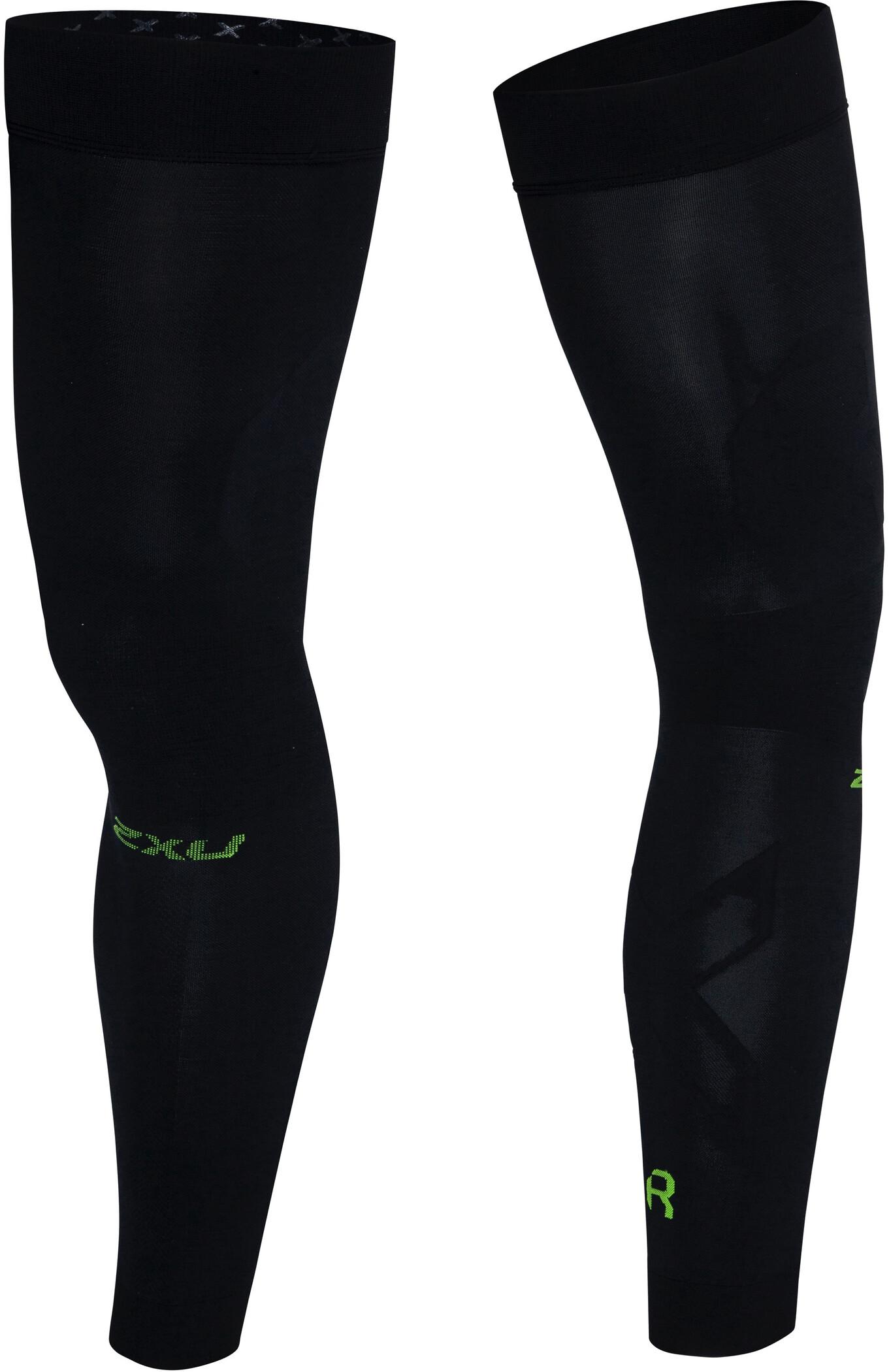 2XU Flex Compression Leg Sleeves for Recovery, black/nero (2019) | Compression