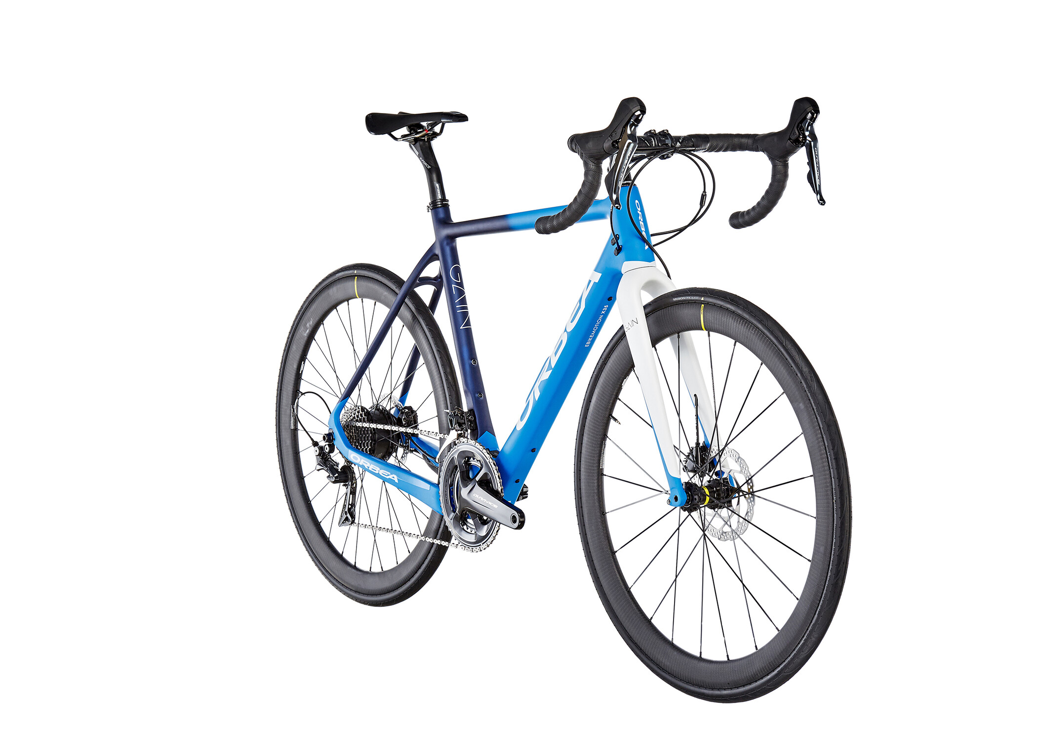 ORBEA Gain M10, blue/white (2019) | City