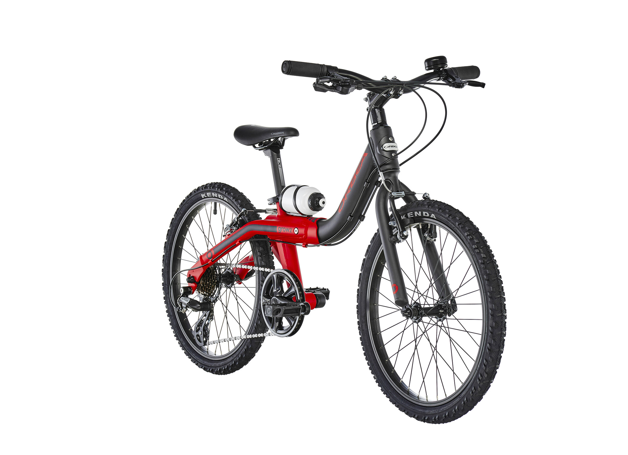 ORBEA Grow 2 7V Børn, black/red (2019) | City