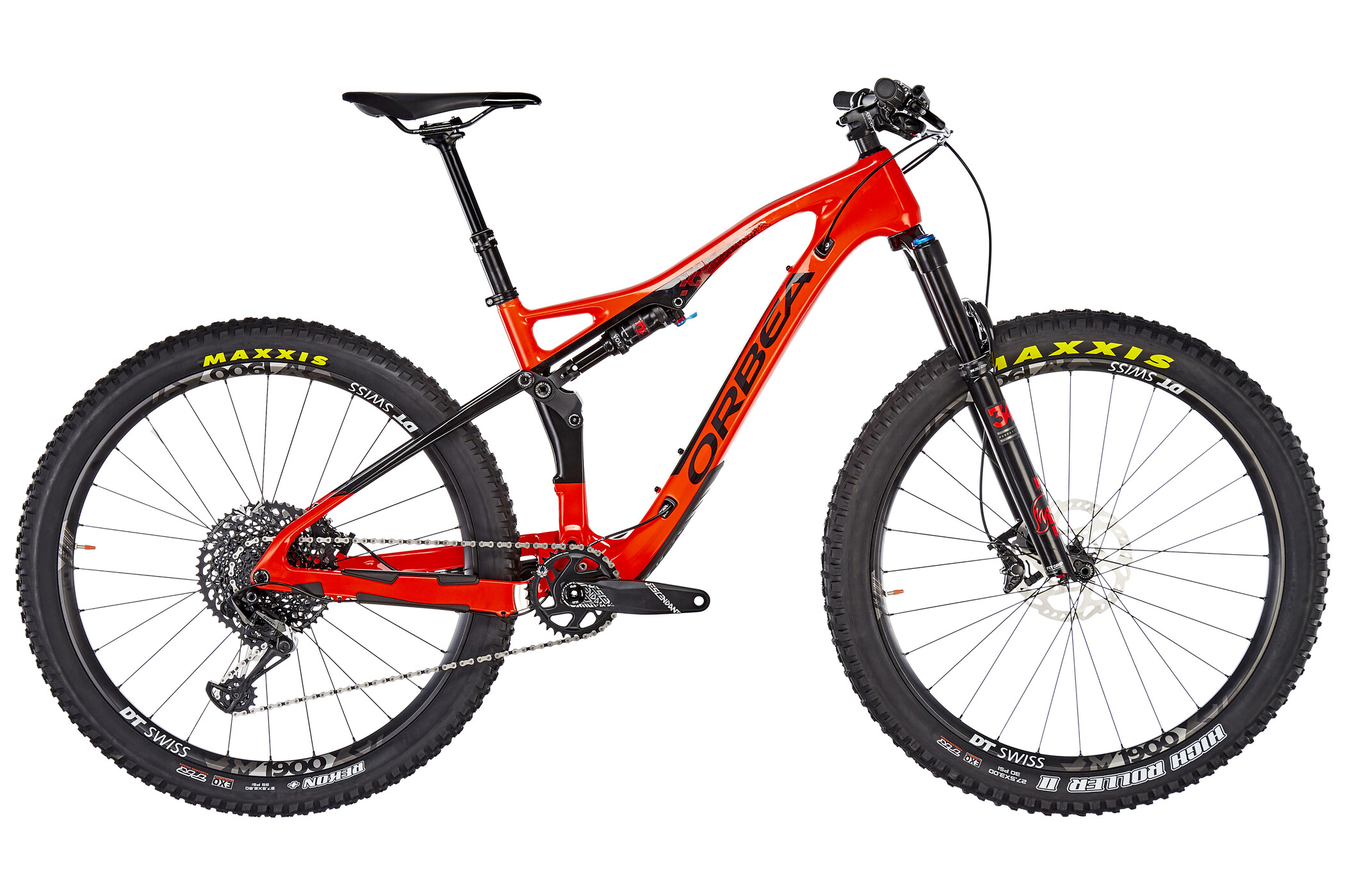 ORBEA Occam TR M20PLUS, red/black (2019) | Mountainbikes