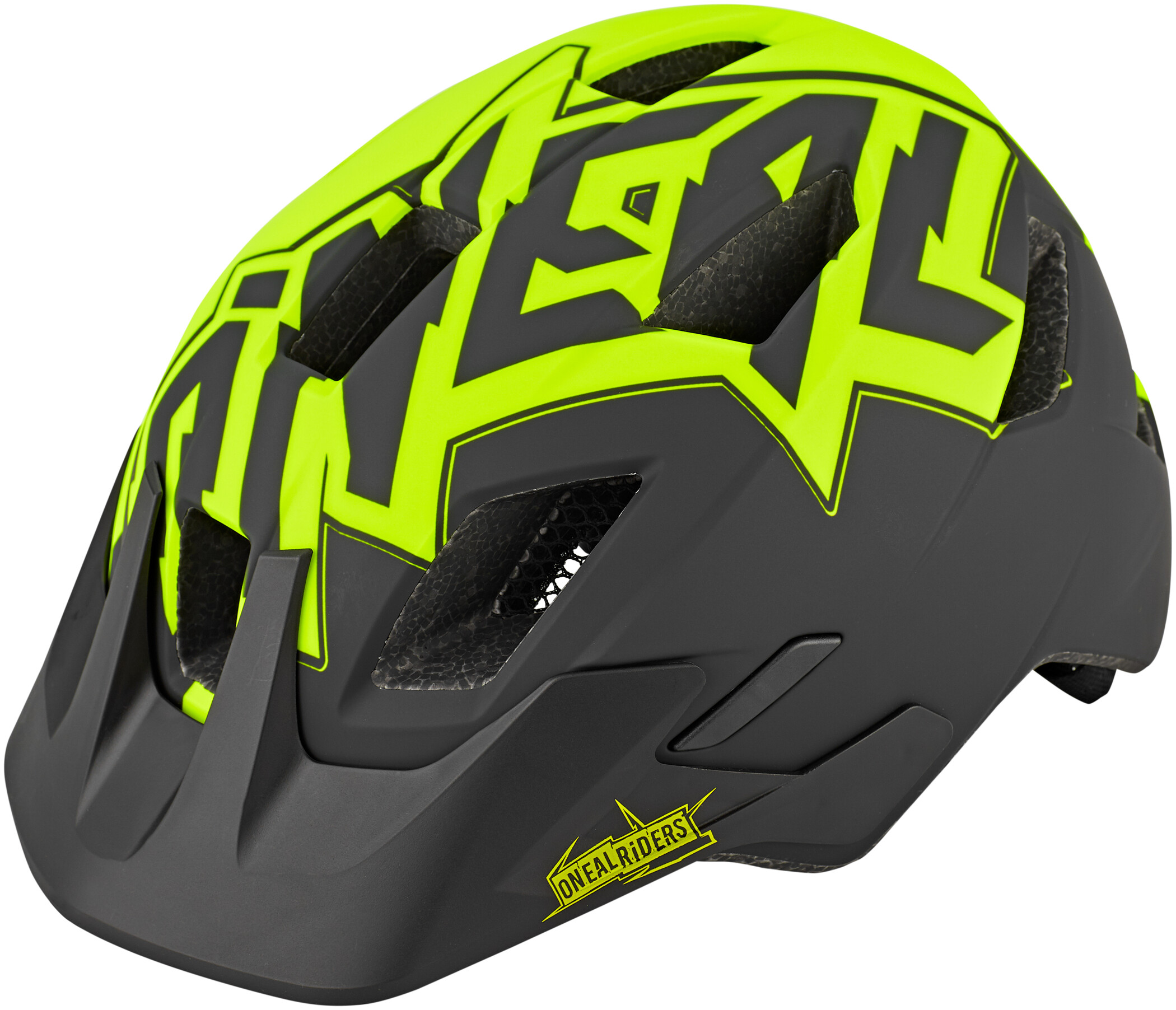 O'Neal Rooky Cykelhjelm Stixx Børn, neon yellow (2020) | Hjelme