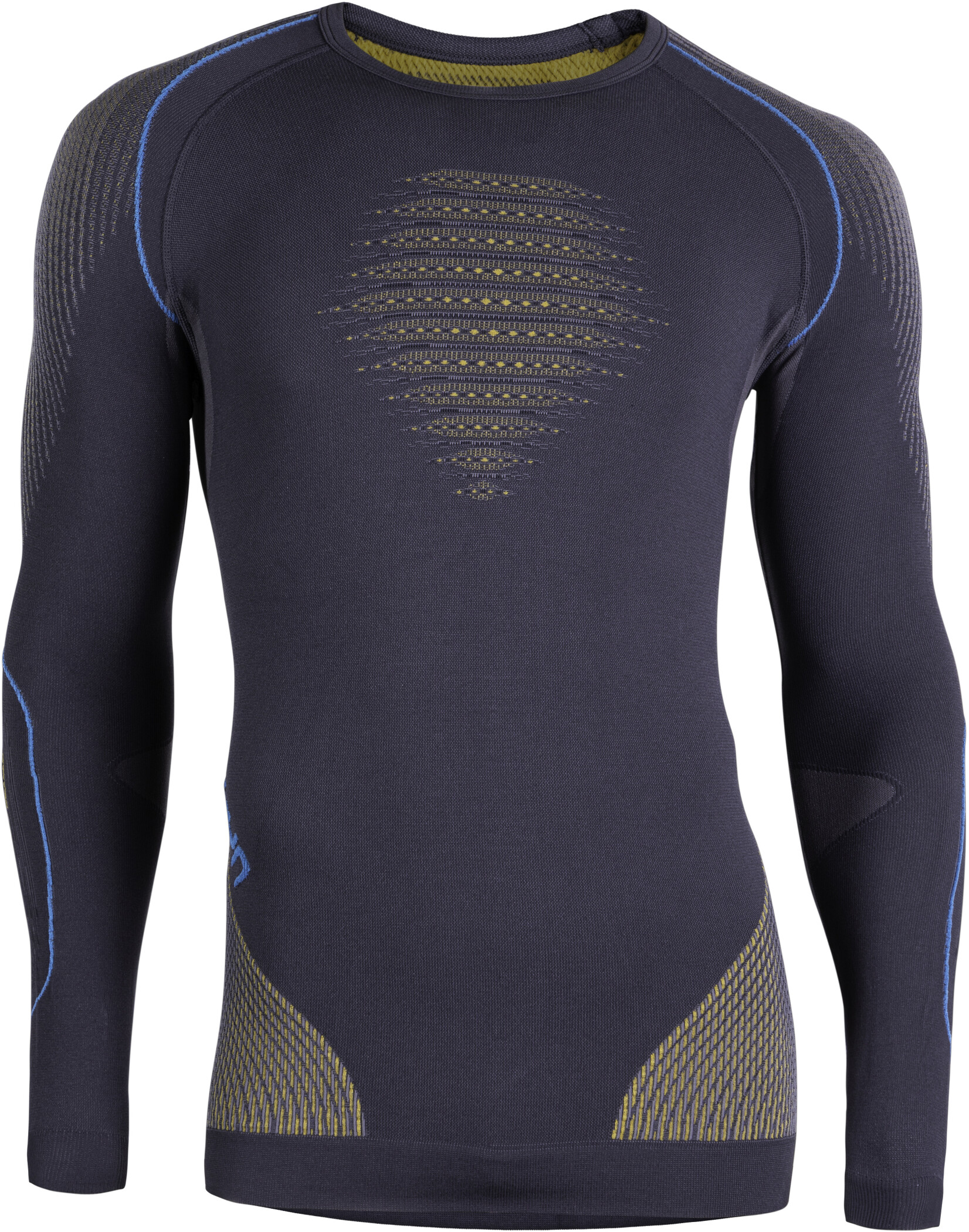 UYN Evolutyon UW Undertøj Herrer, charcoal/gold/atlantic (2019) | Base layers