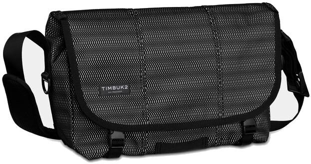 Timbuk2 Maze Classic Taske S, jet black woven reflective (2019) | Travel bags