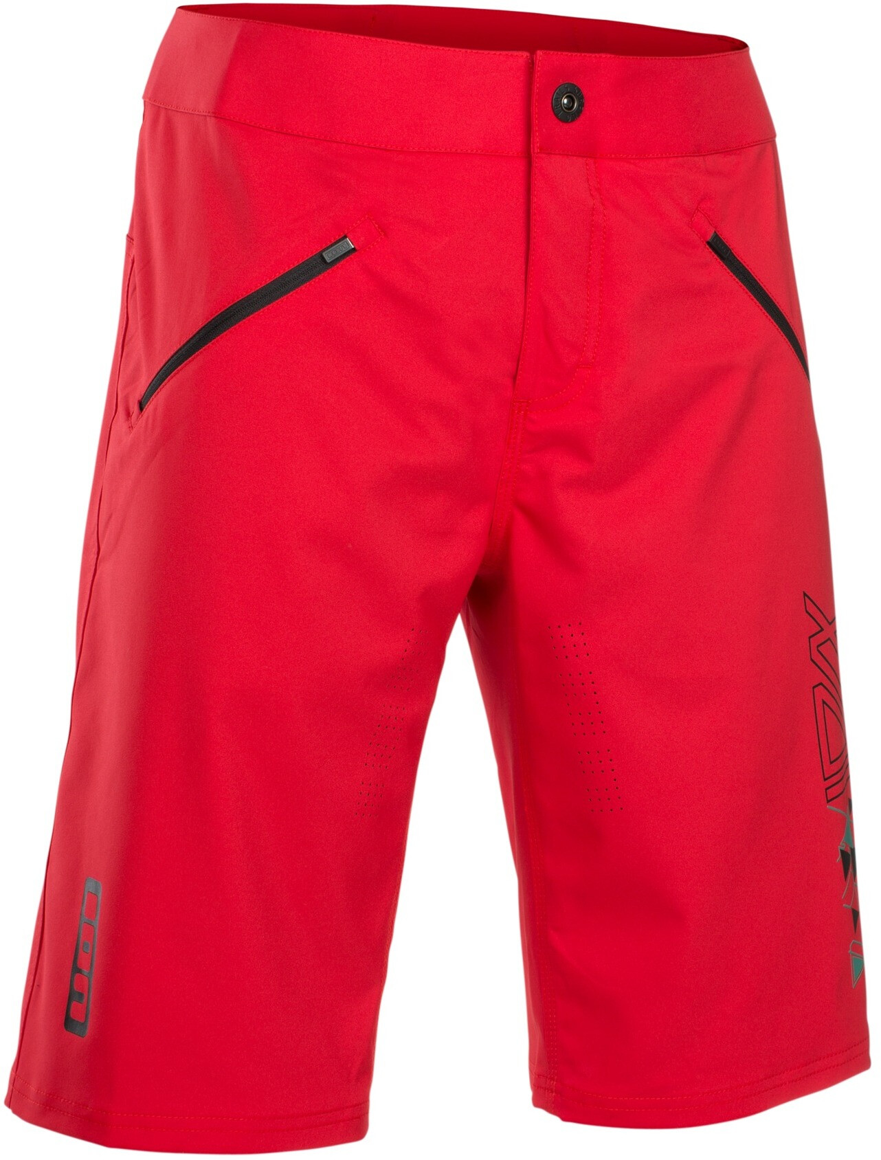 ION Traze Cykelbukser Herrer, rageous red (2019) | Trousers