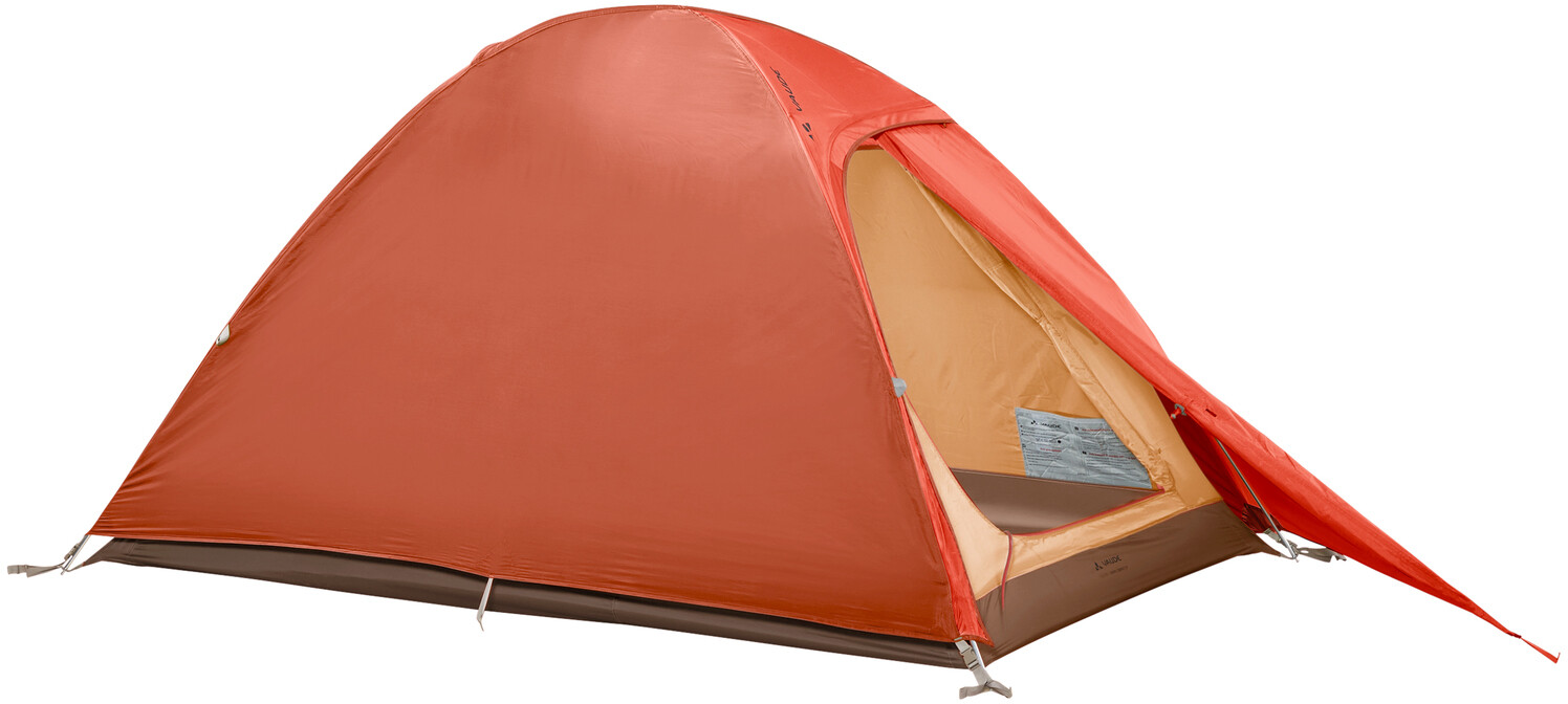 VAUDE Campo Compact 2P Telt, terracotta (2019)   Misc. Transportation and Storage