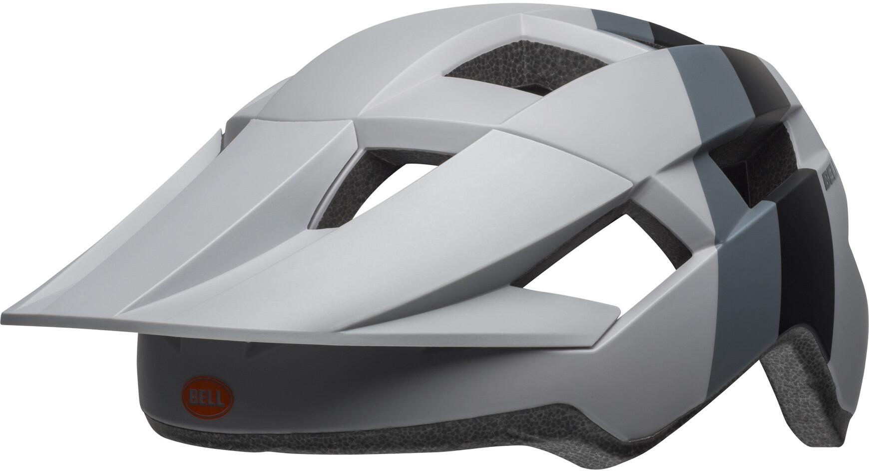 Bell Spark MIPS Cykelhjelm, downdraft matte gray/orange (2019) | Hjelme