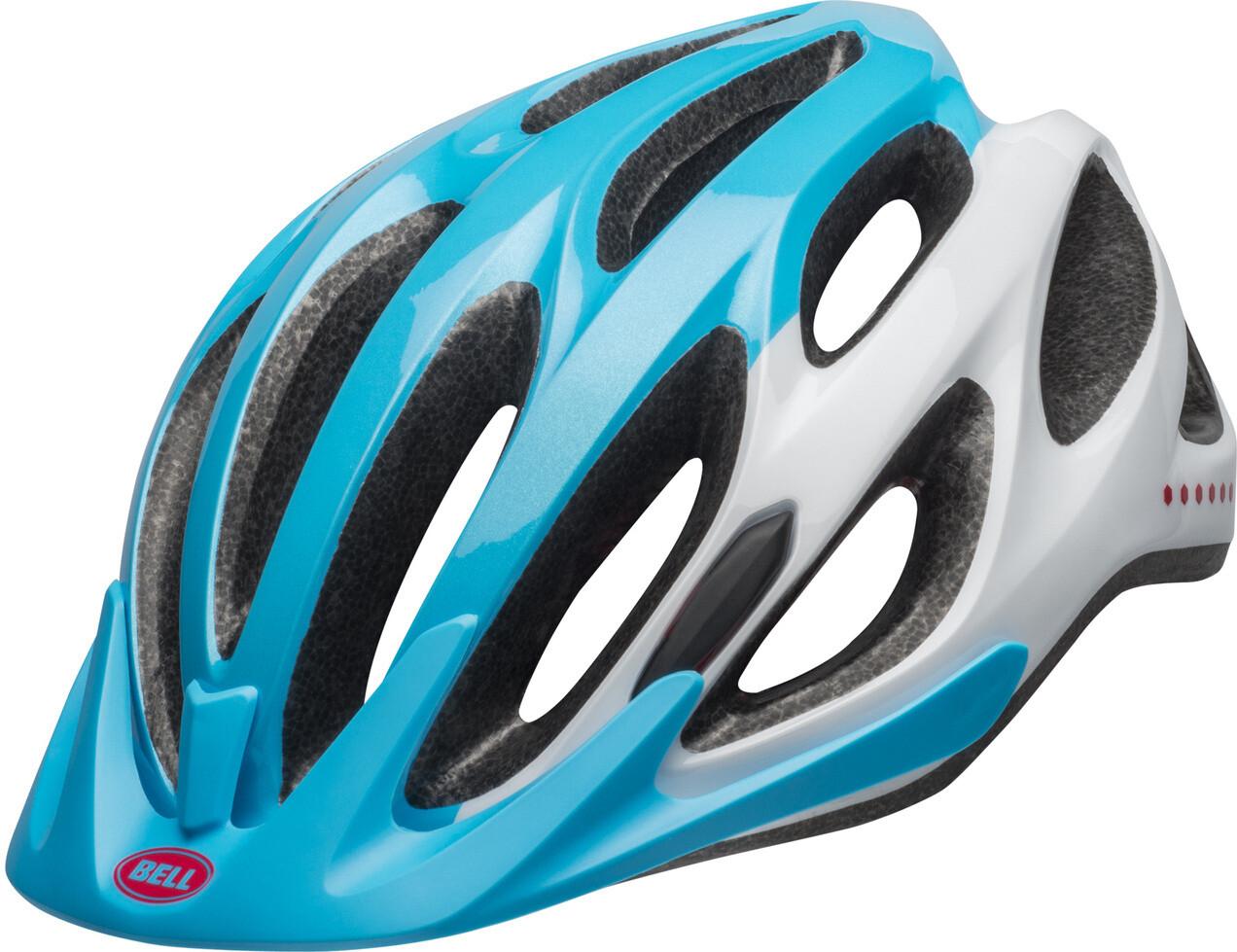 Bell Coast MIPS Cykelhjelm Damer, bright blue/raspberry/white uni (2019) | Hjelme