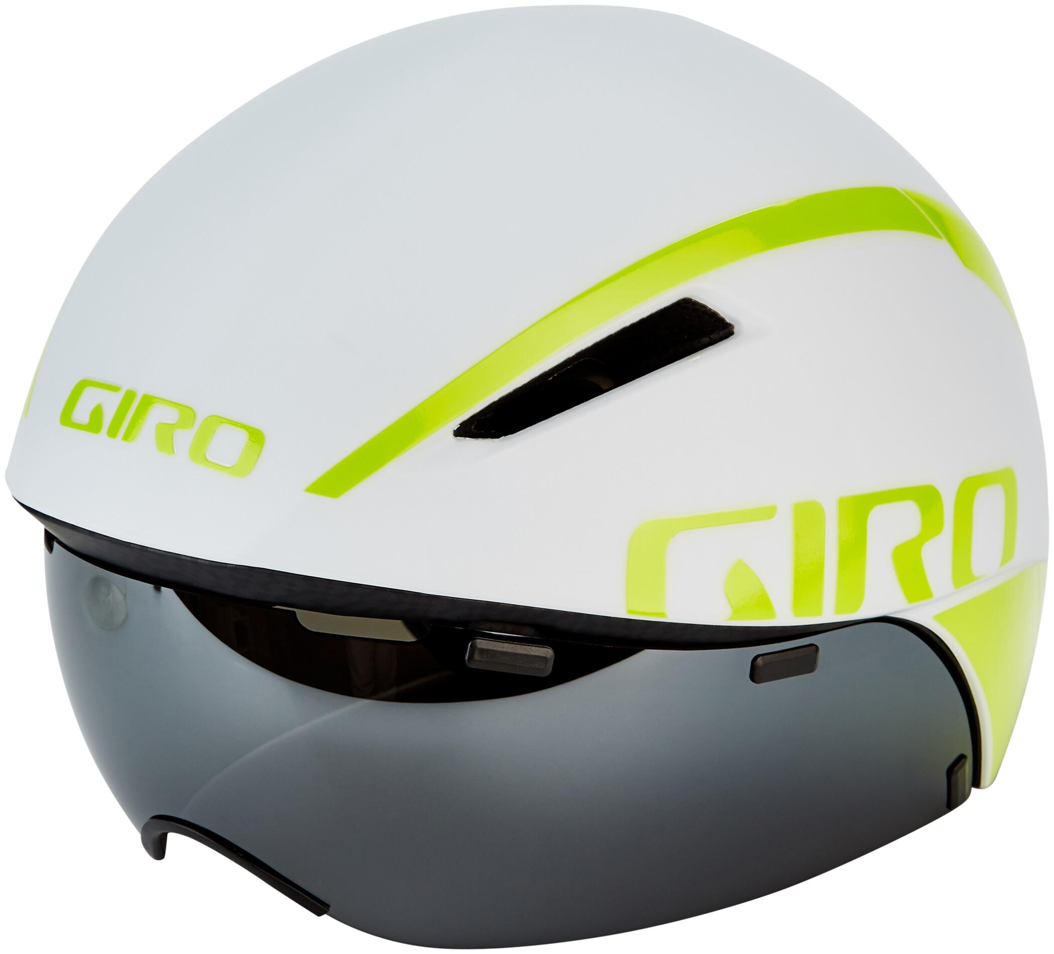 Giro Aerohead MIPS Cykelhjelm, matte white/citron (2019) | Helmets