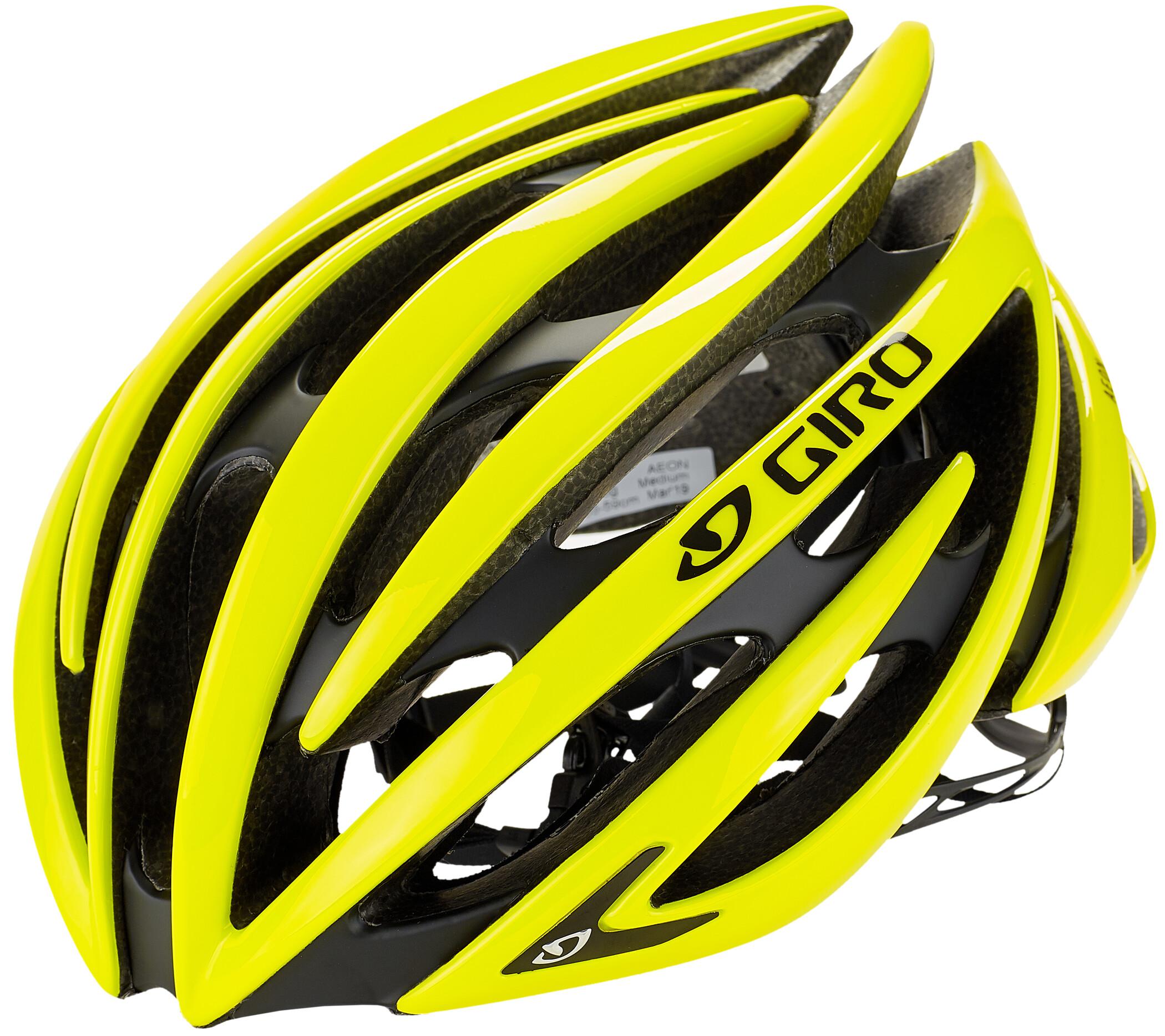 Giro Aeon Cykelhjelm, citron (2019) | Helmets