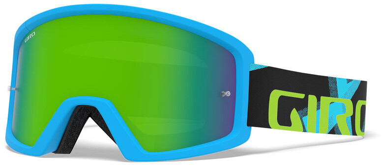 Giro Blok MTB Goggles, iceberg/reveal camo, loden/clear (2019) | Glasses