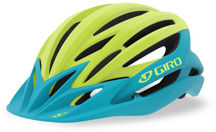 Giro Artex MIPS Cykelhjelm, matte iceberg/citron (2019) | Helmets