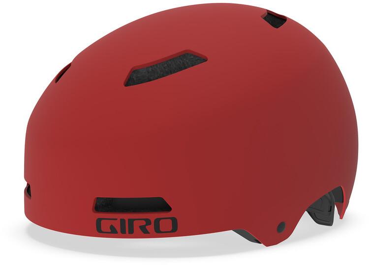 Giro Quarter FS Cykelhjelm, matte dark red | Hjelme