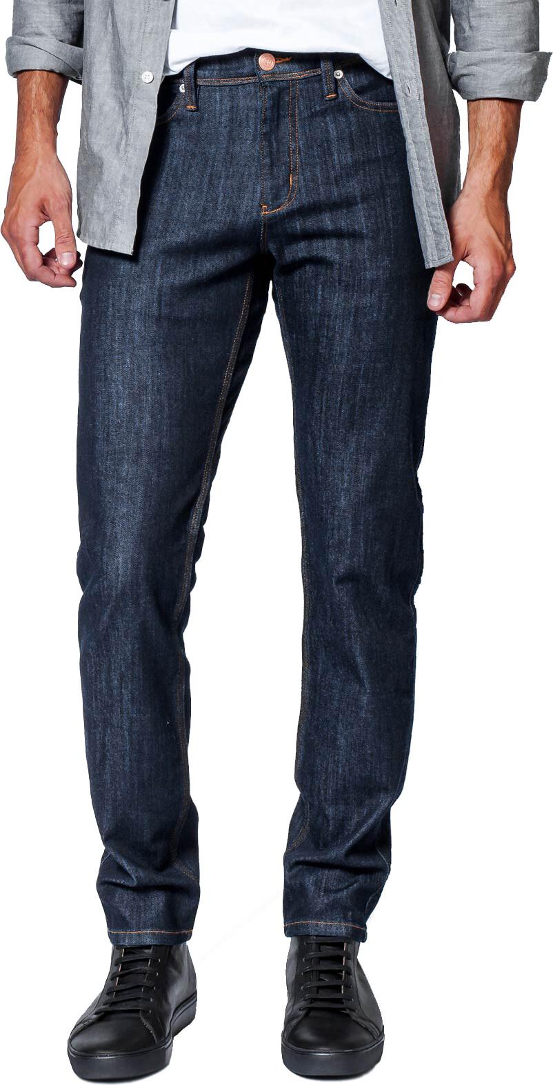 DUER Performance Denim Pants Slim Men, heritage rinse | Bukser