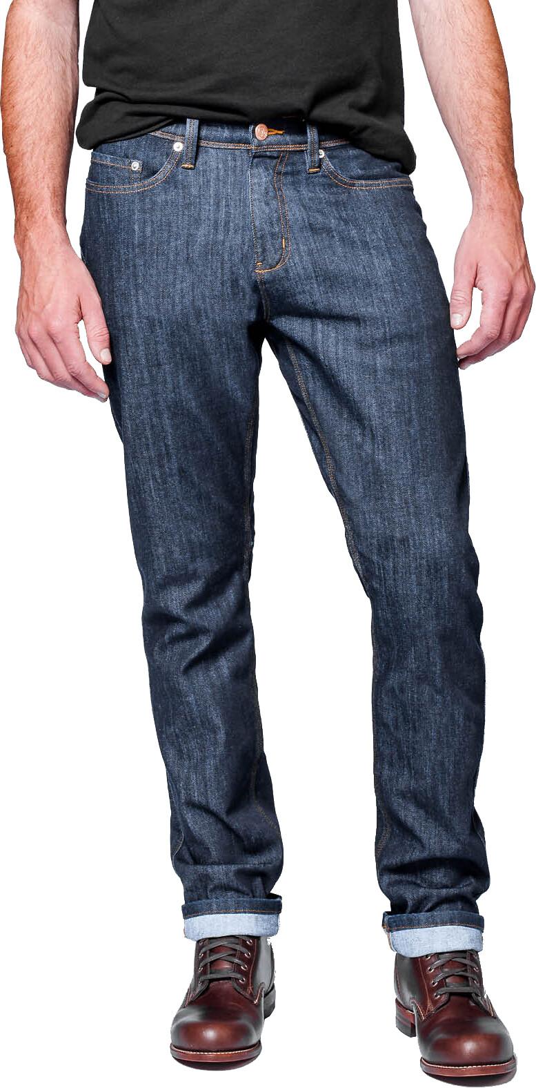 DUER Performance Denim Pants Relaxed Men, heritage rinse | Bukser