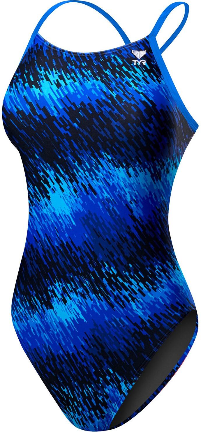 TYR Perseus Cutoutfit Svømmedragt Damer, blue | swim_clothes