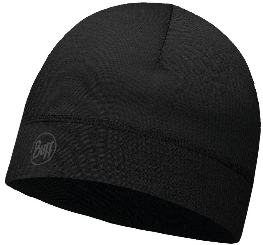 Buff ThermoNet Hovedbeklædning, solid black (2019) | Headwear