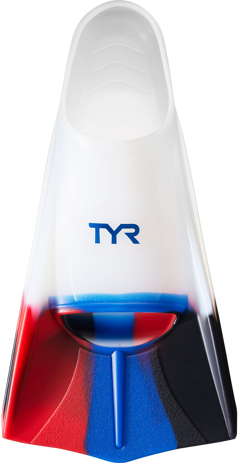 TYR Stryker Silicone Fins XXL, currant, navy/red/clear (2019) | item_misc