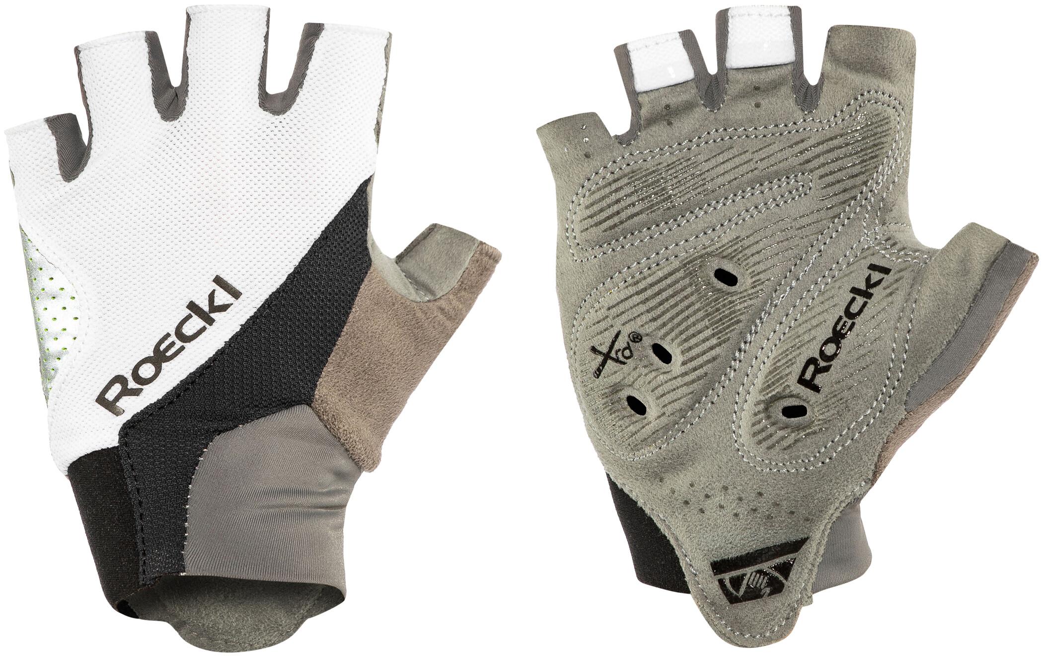 Roeckl Ivory Cykelhandsker, white/black (2019) | Gloves