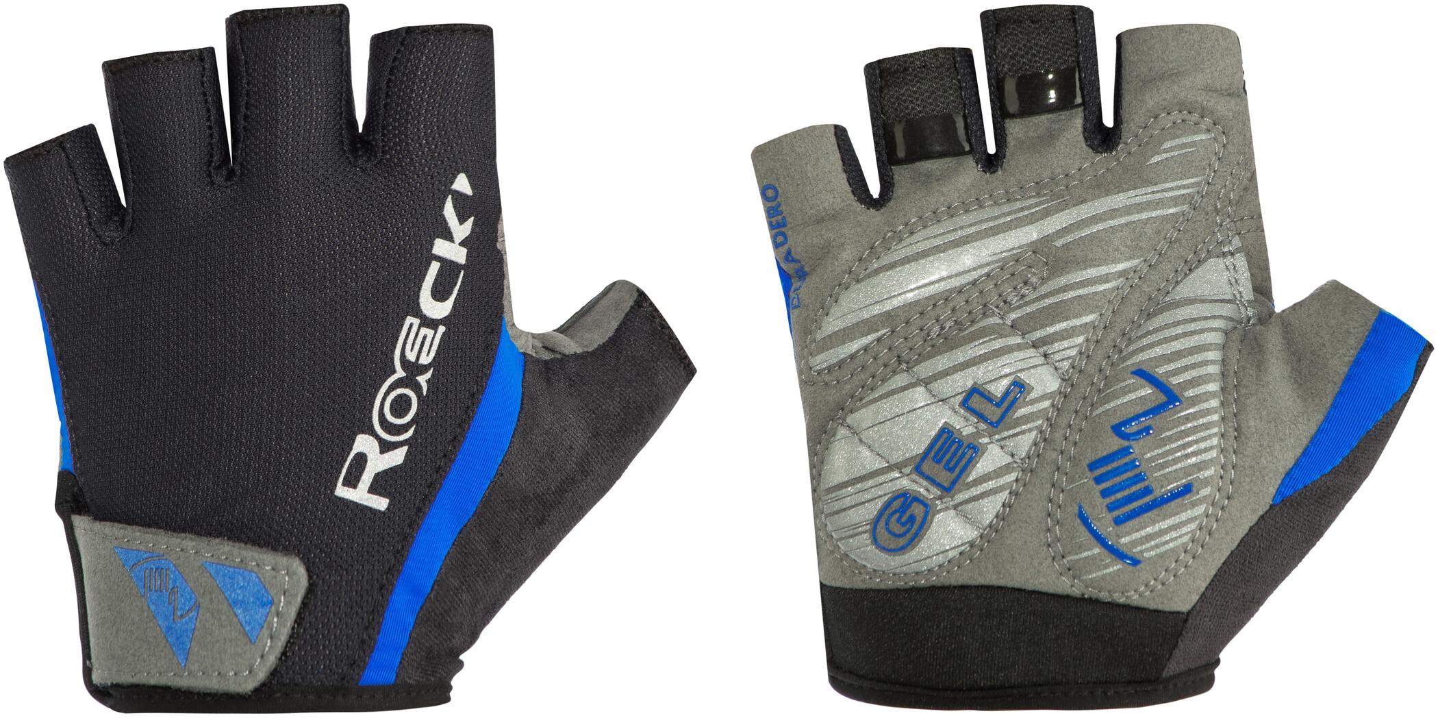 Roeckl Ilio Cykelhandsker, black/blue (2019) | Gloves