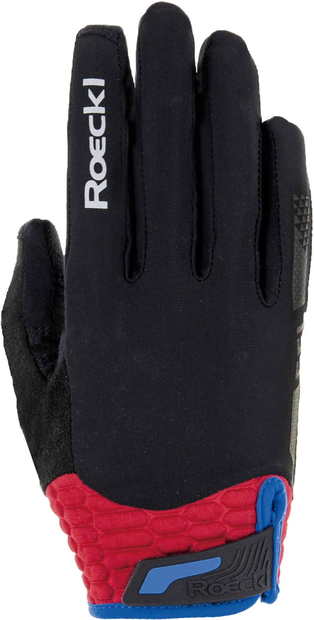 Roeckl Markham Cykelhandsker, black/red (2019) | Gloves