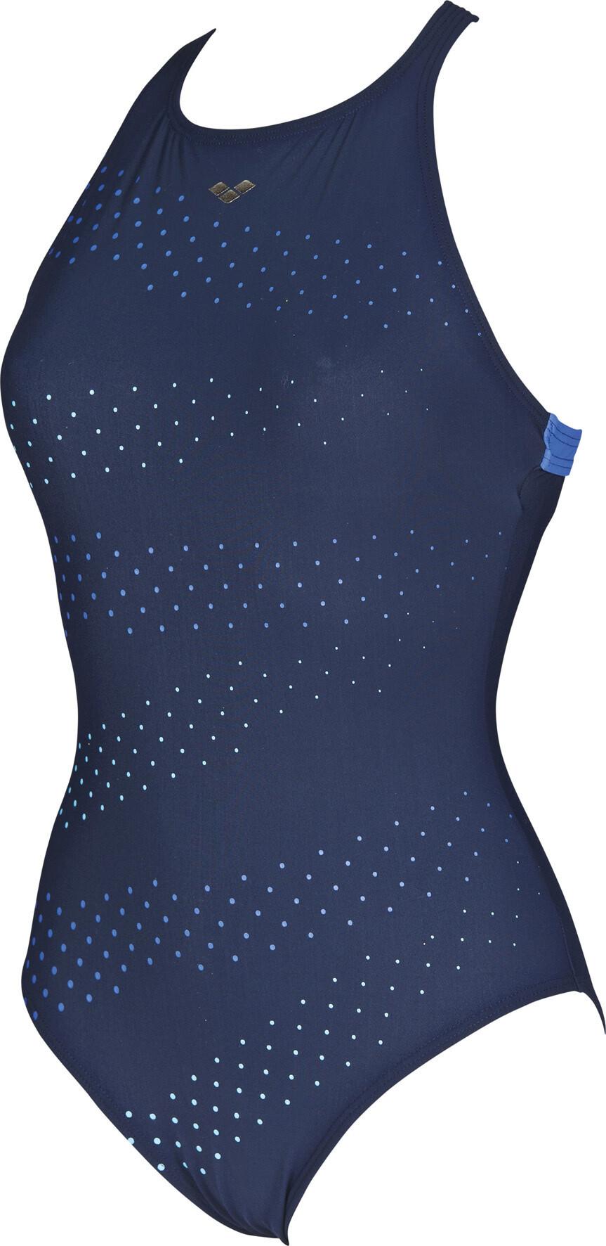 arena Leda Embrace Back Badedragt Damer, navy-bright blue (2019) | swim_clothes