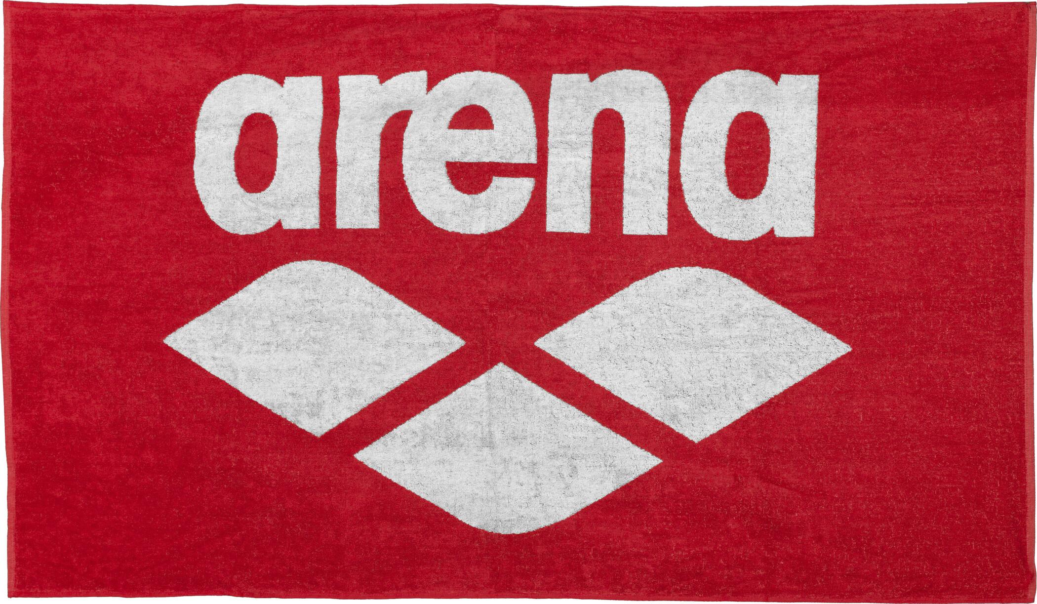 arena Pool Soft Håndklæde, red-white | Misc. Multimedia