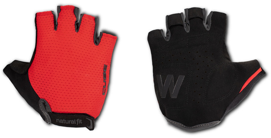 Cube Natural Fit WS X Cykelhandsker Damer, red (2019) | Gloves