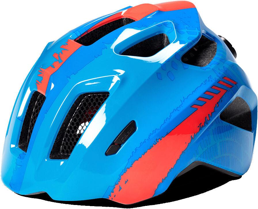 Cube Fink Cykelhjelm Børn, blue (2019) | Helmets