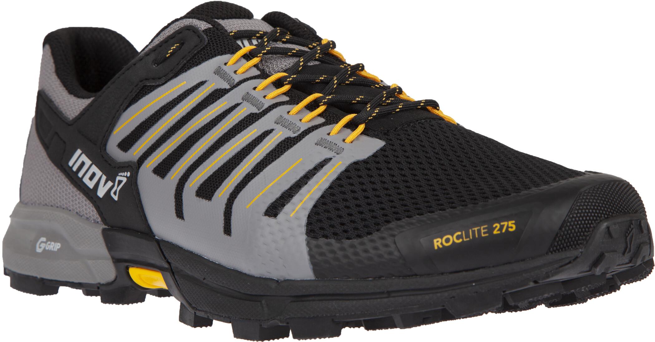 inov-8 Roclite 275 Sko Herrer, black/yellow (2019)   Shoes and overlays