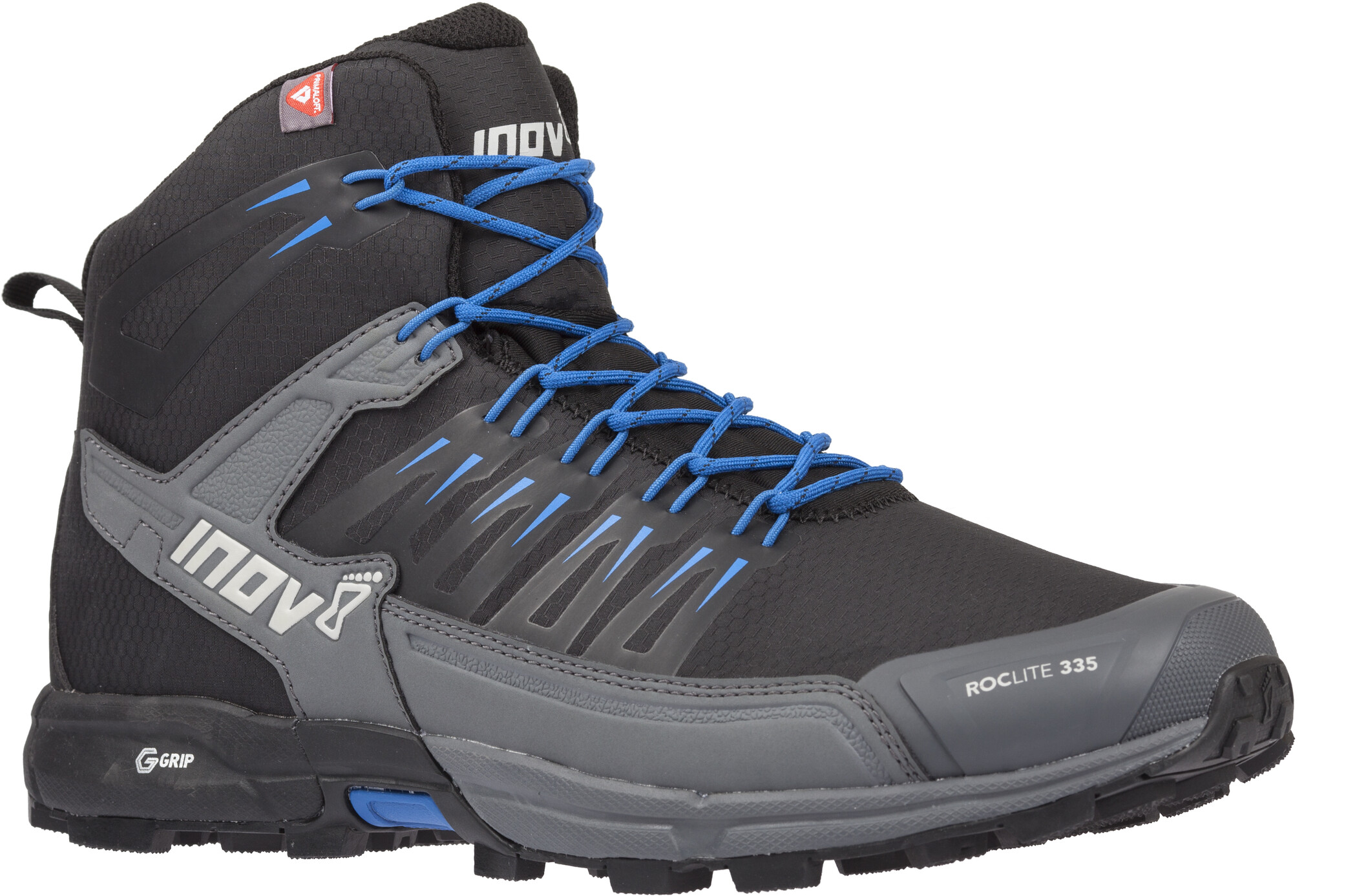 inov-8 Roclite 335 Sko, black/blue (2019)   Shoes and overlays