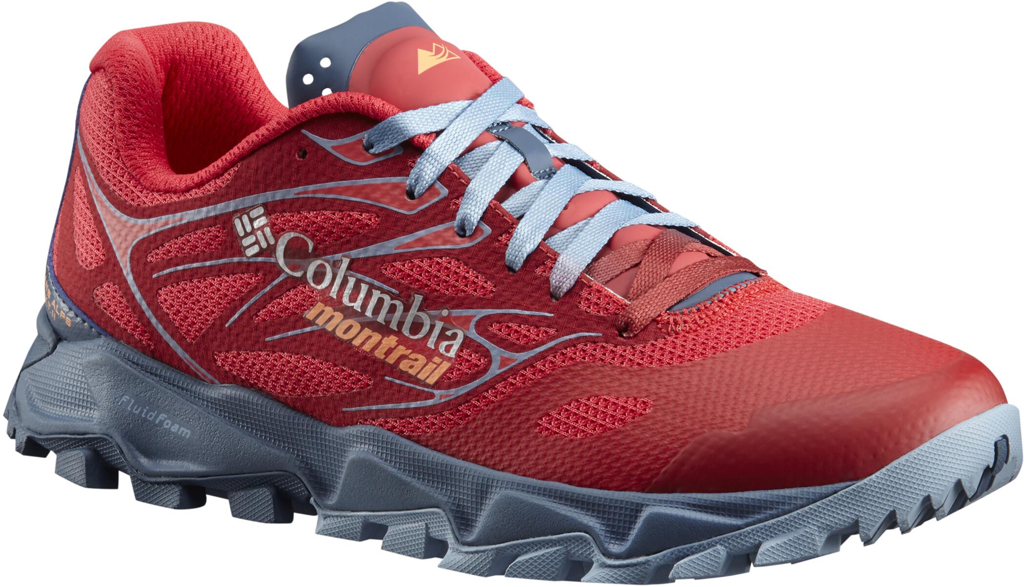 Columbia Trans ALPS F.K.T. II Sko Damer, red camellia/jupiter | Shoes and overlays
