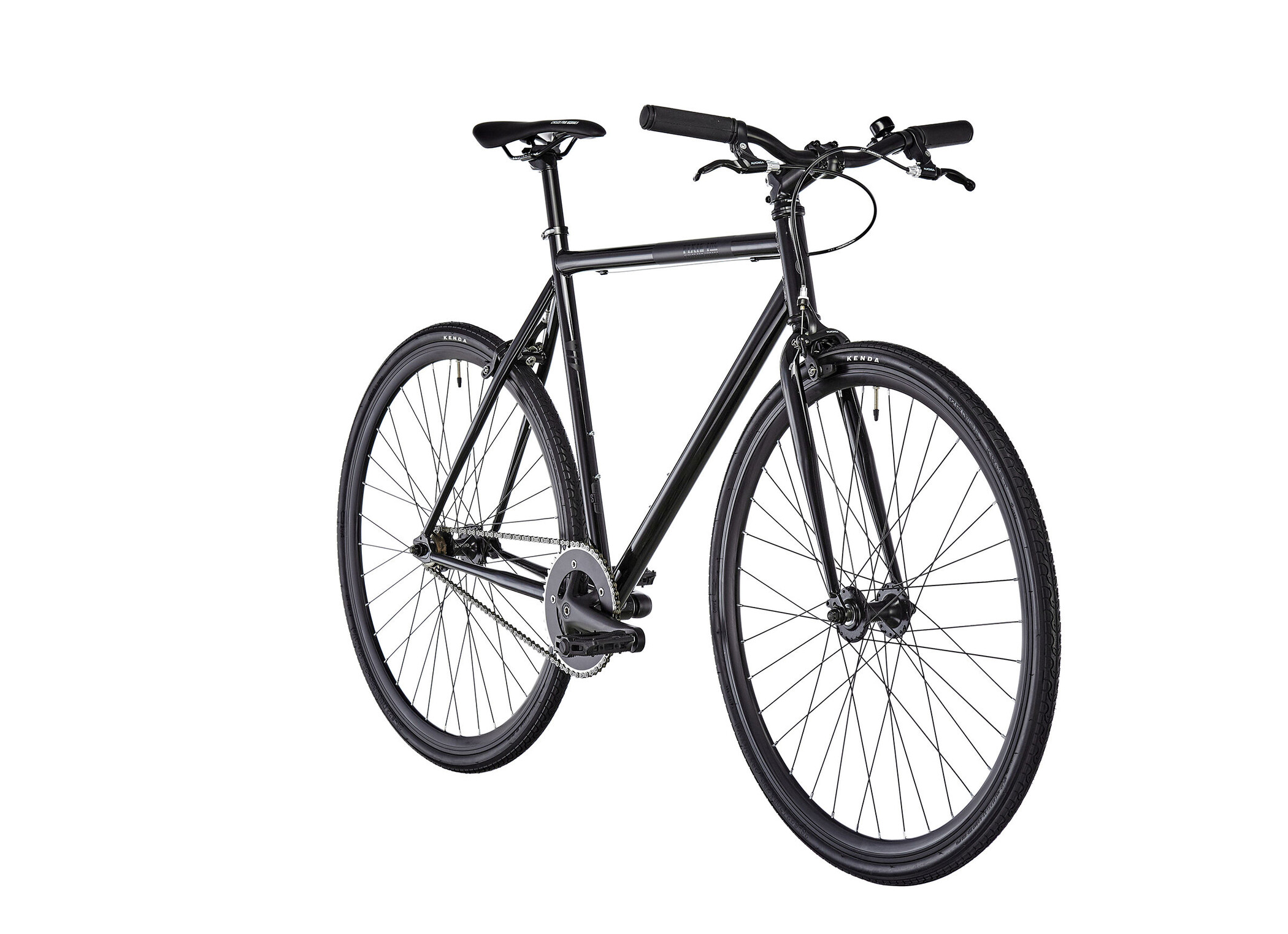FIXIE Inc. Betty Leeds, black (2019) | City-cykler