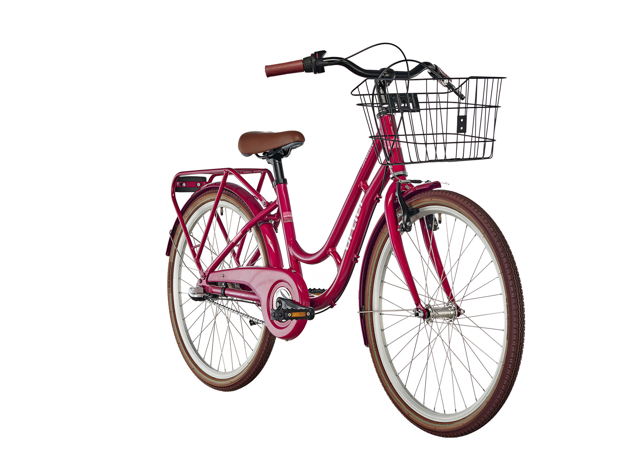 Ortler Copenhagen 24'' Kids, red | City-cykler