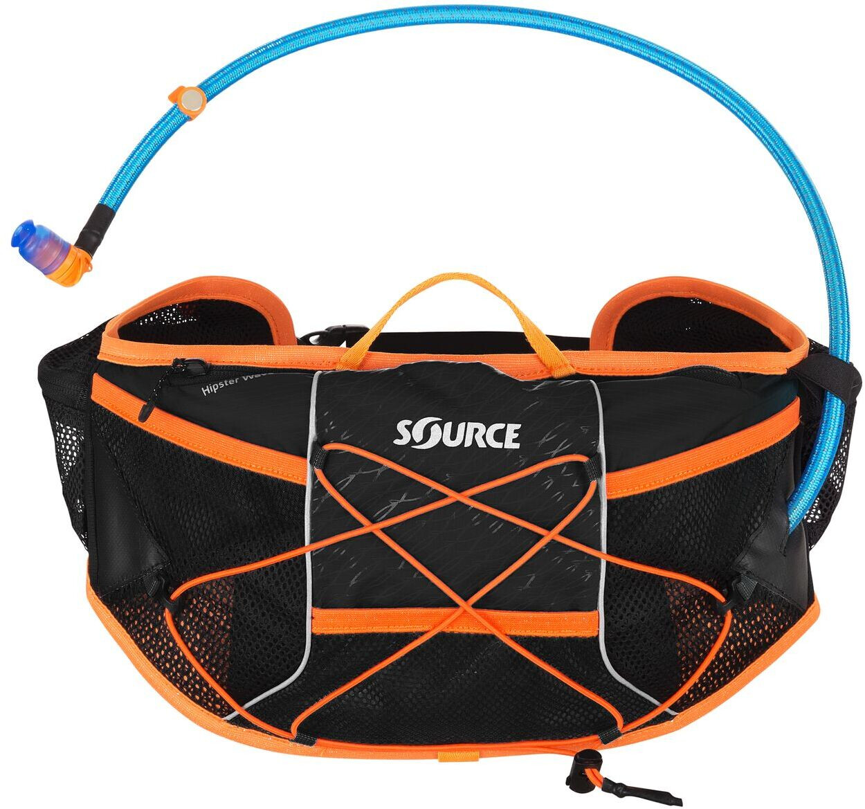 SOURCE Hipster Wave Drikkebælte 1,5L, black | Waist bags