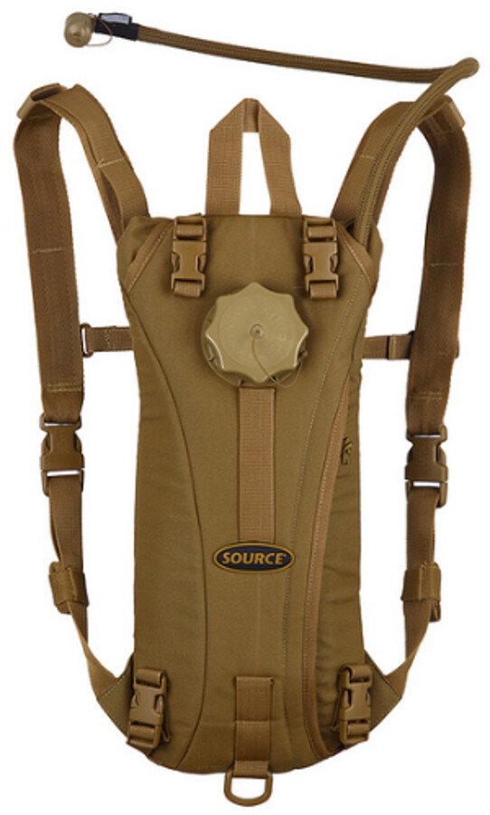 SOURCE Tactical Hydration Pack medium, coyote (2019) | Rygsæk og rejsetasker