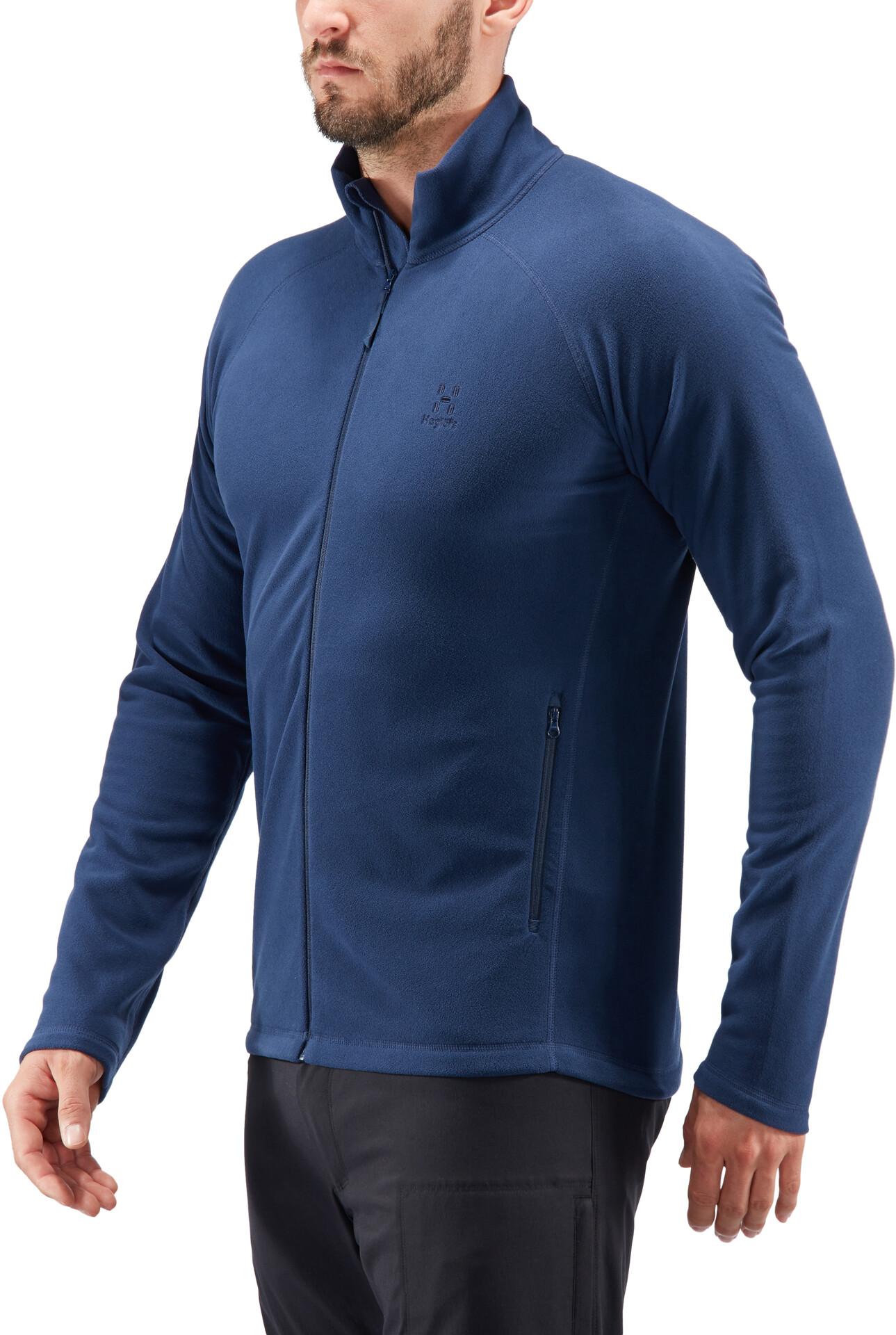 Haglöfs Astro II Jacket Men tarn blue leichte Fleecejacke für Herren