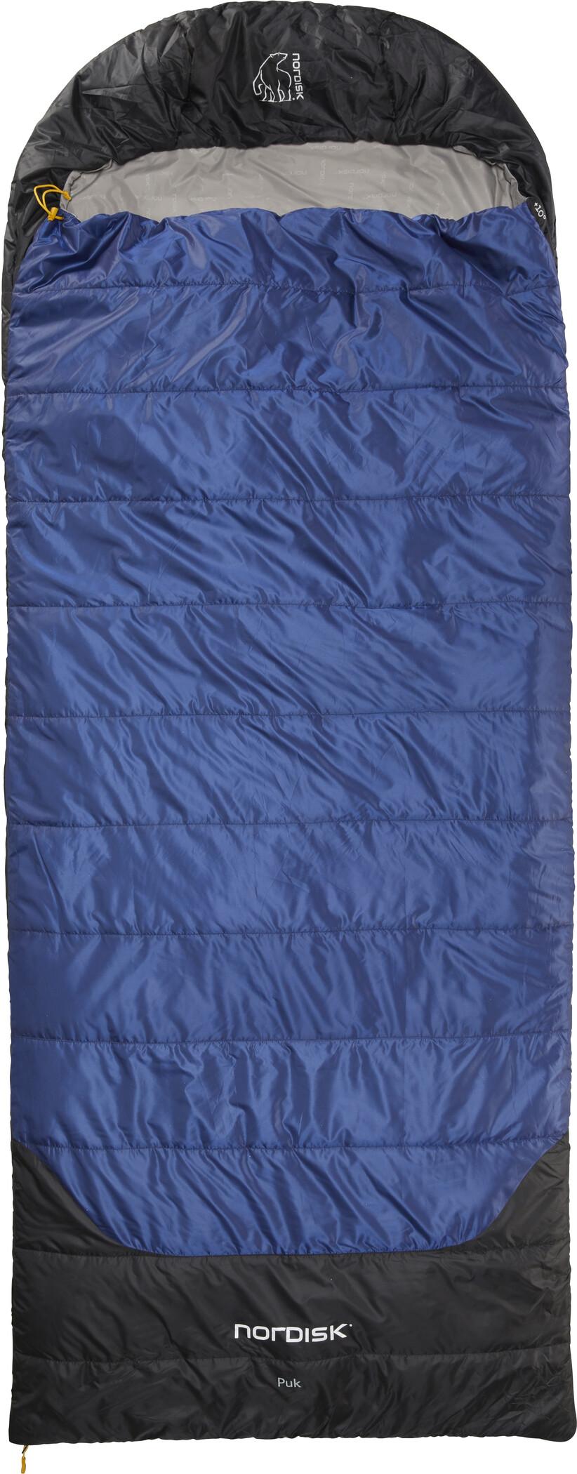 Nordisk Puk +10° Blanket Sovepose XL, true navy/steeple gray/black (2019) | Misc. Transportation and Storage