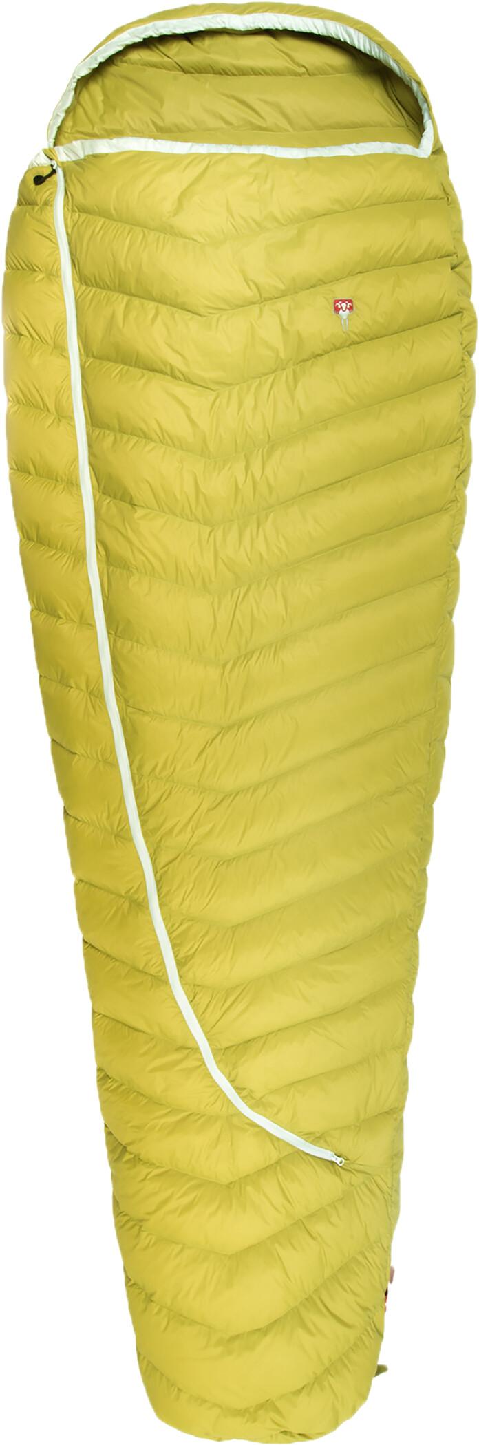 Grüezi-Bag Biopod DownWool Extreme Light 185 Sovepose, warm olive | Transport og opbevaring > Tilbehør