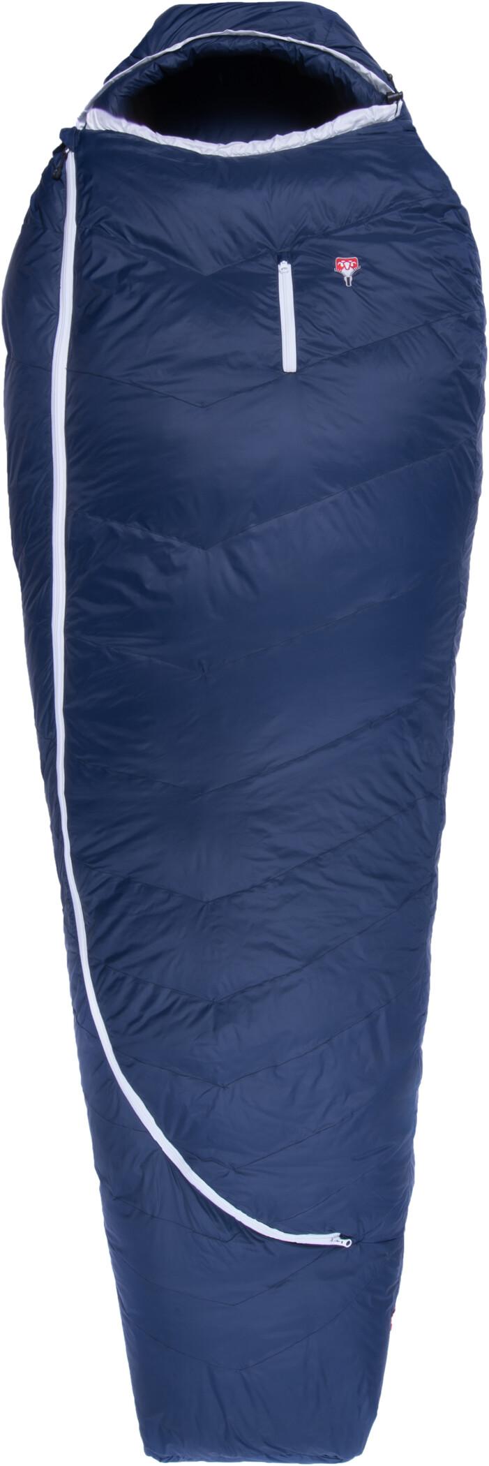 Grüezi-Bag Biopod DownWool Ice 200 Sovepose, night blue (2019) | Misc. Transportation and Storage