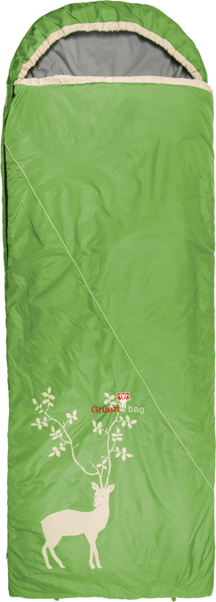 Grüezi-Bag Cloud Decke Reh III Sovepose, spring green | Transport og opbevaring > Tilbehør
